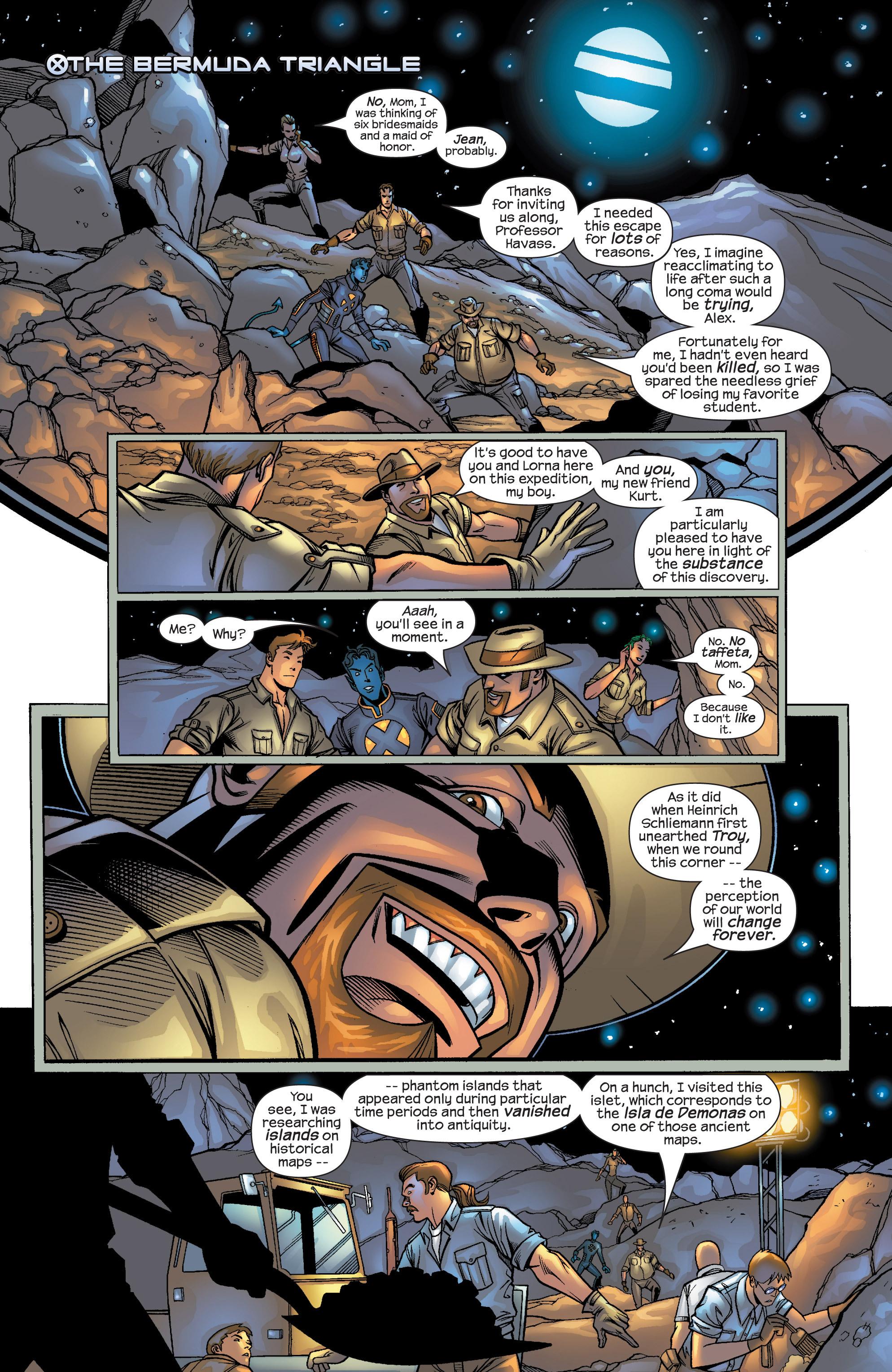 Read online Uncanny X-Men (1963) comic -  Issue #422 - 3