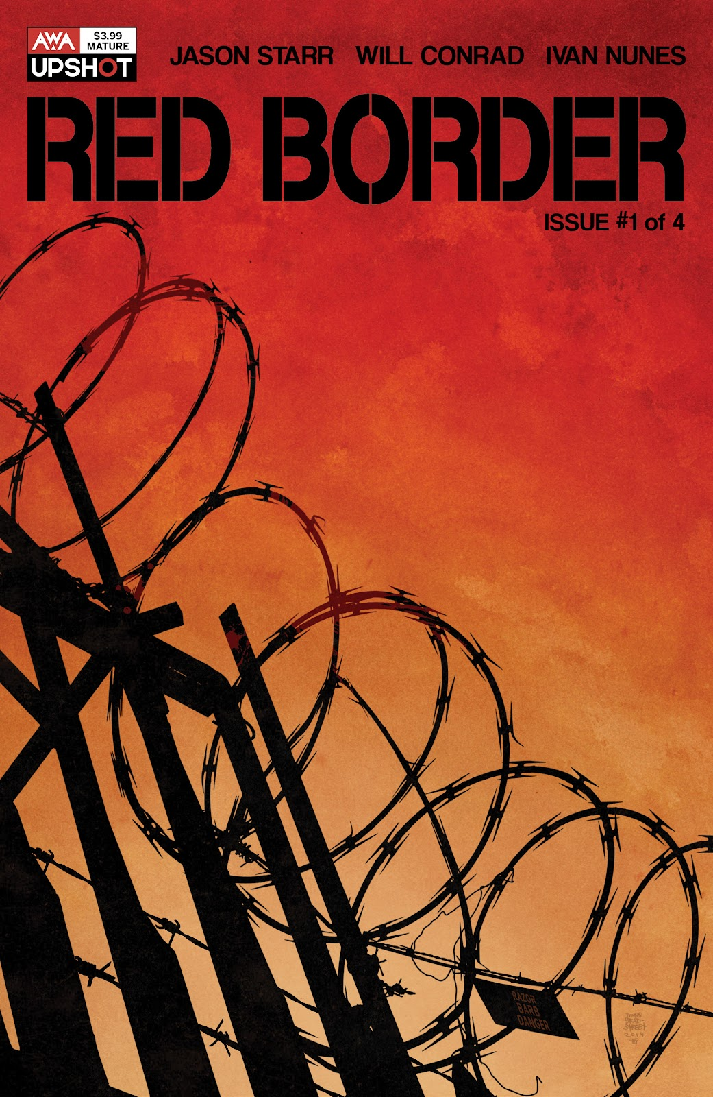 Read online Red Border comic -  Issue #1 - 1
