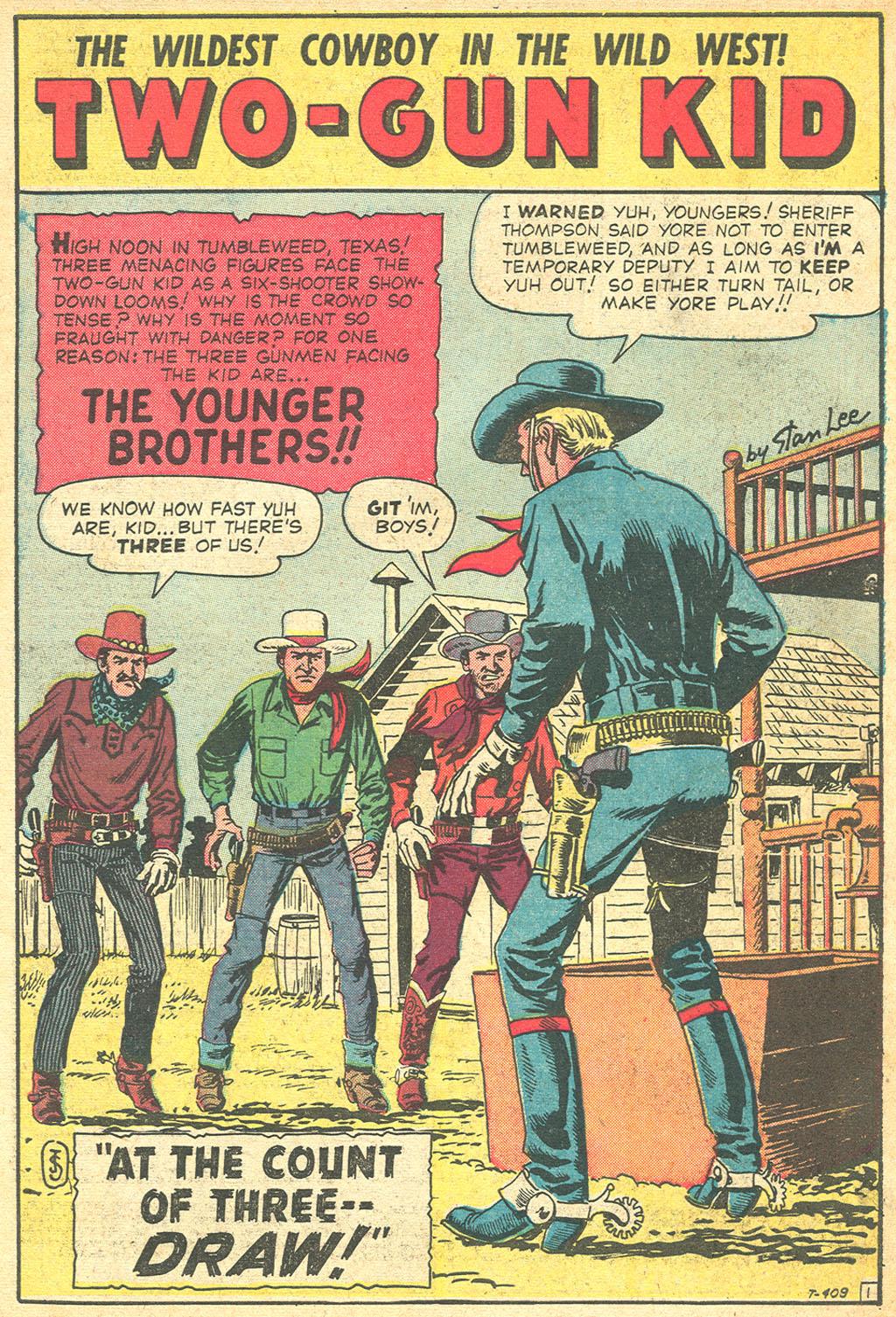 Read online Two-Gun Kid comic -  Issue #50 - 3