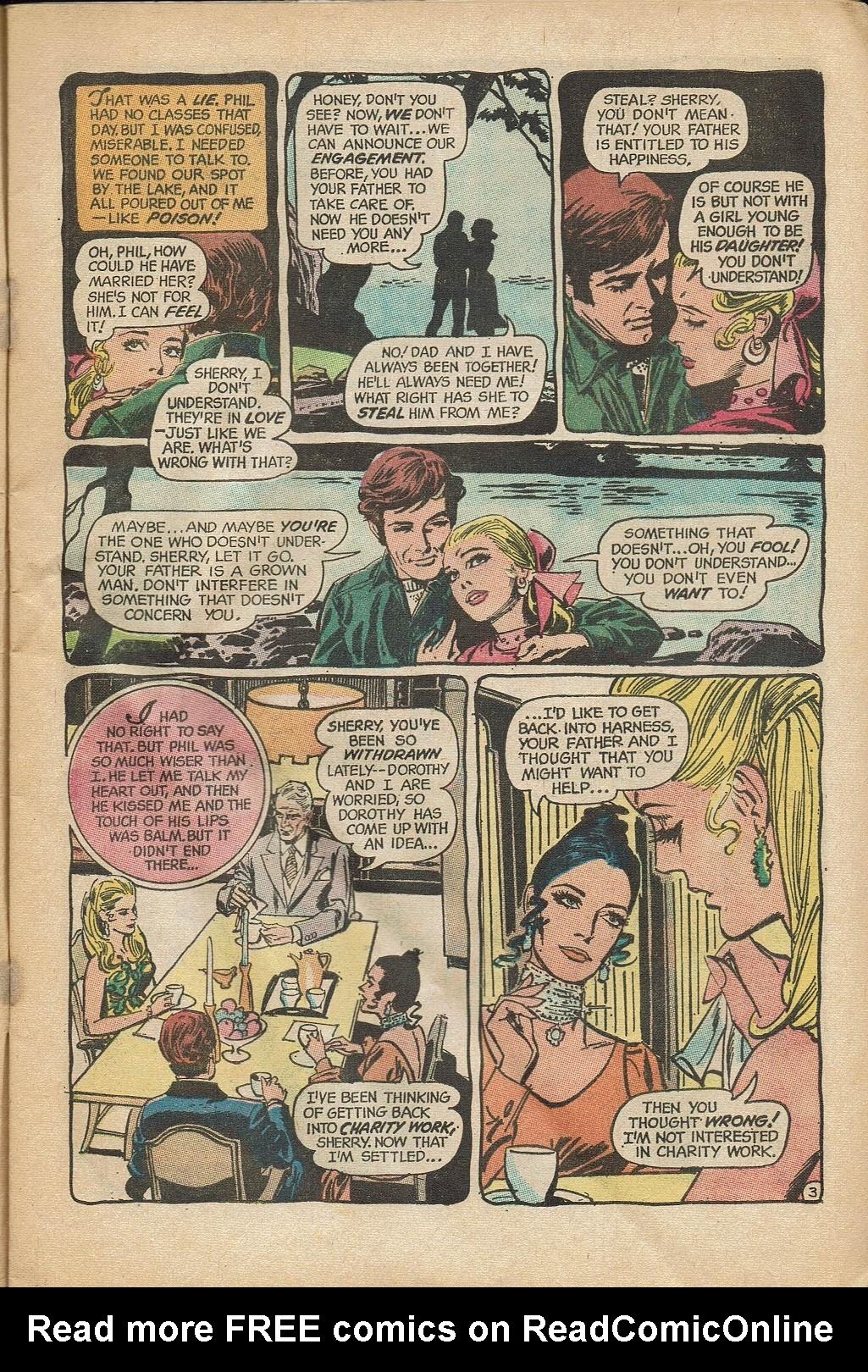 Read online Secret Hearts comic -  Issue #152 - 5