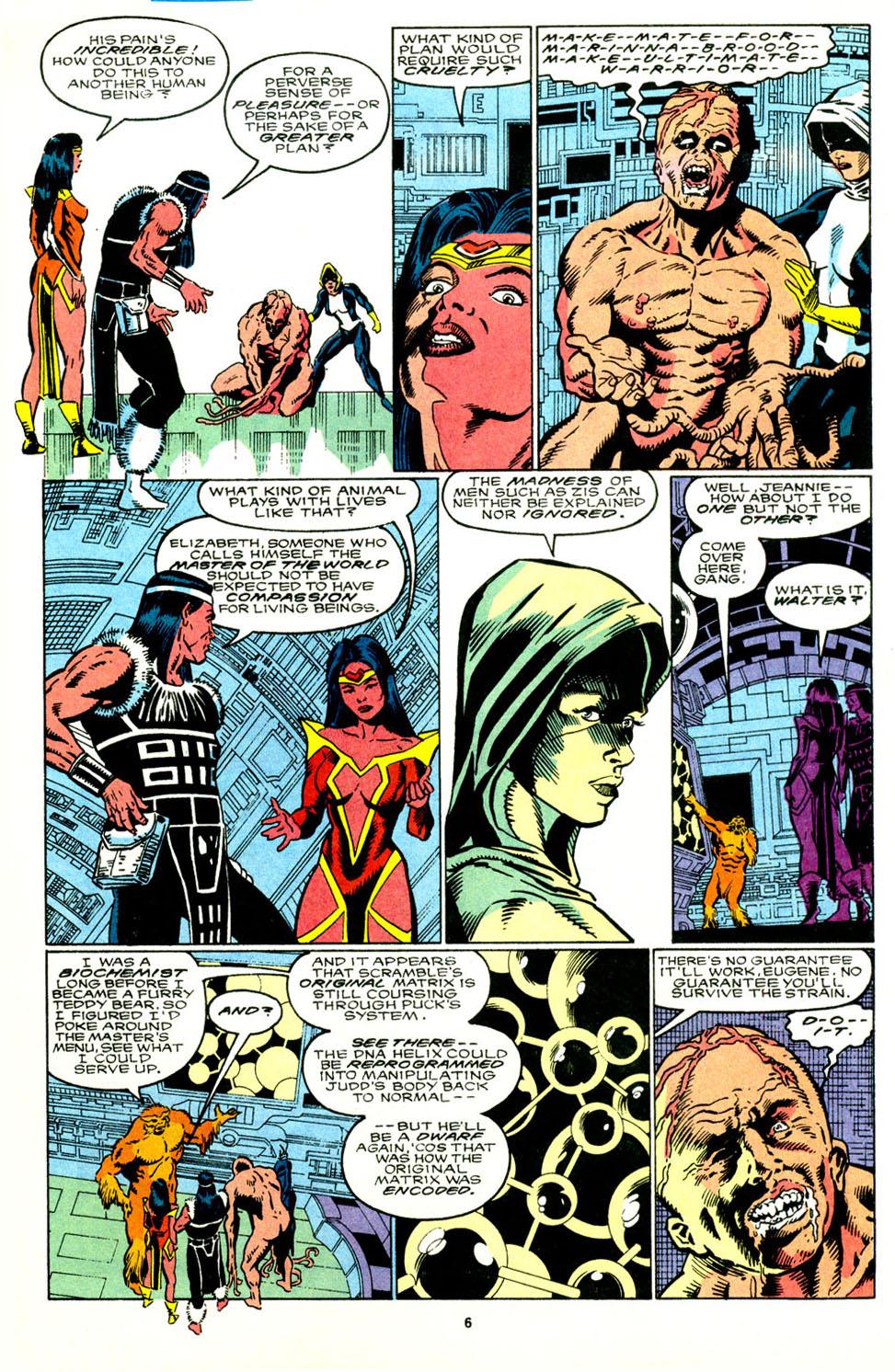 Read online Alpha Flight (1983) comic -  Issue #89 - 6