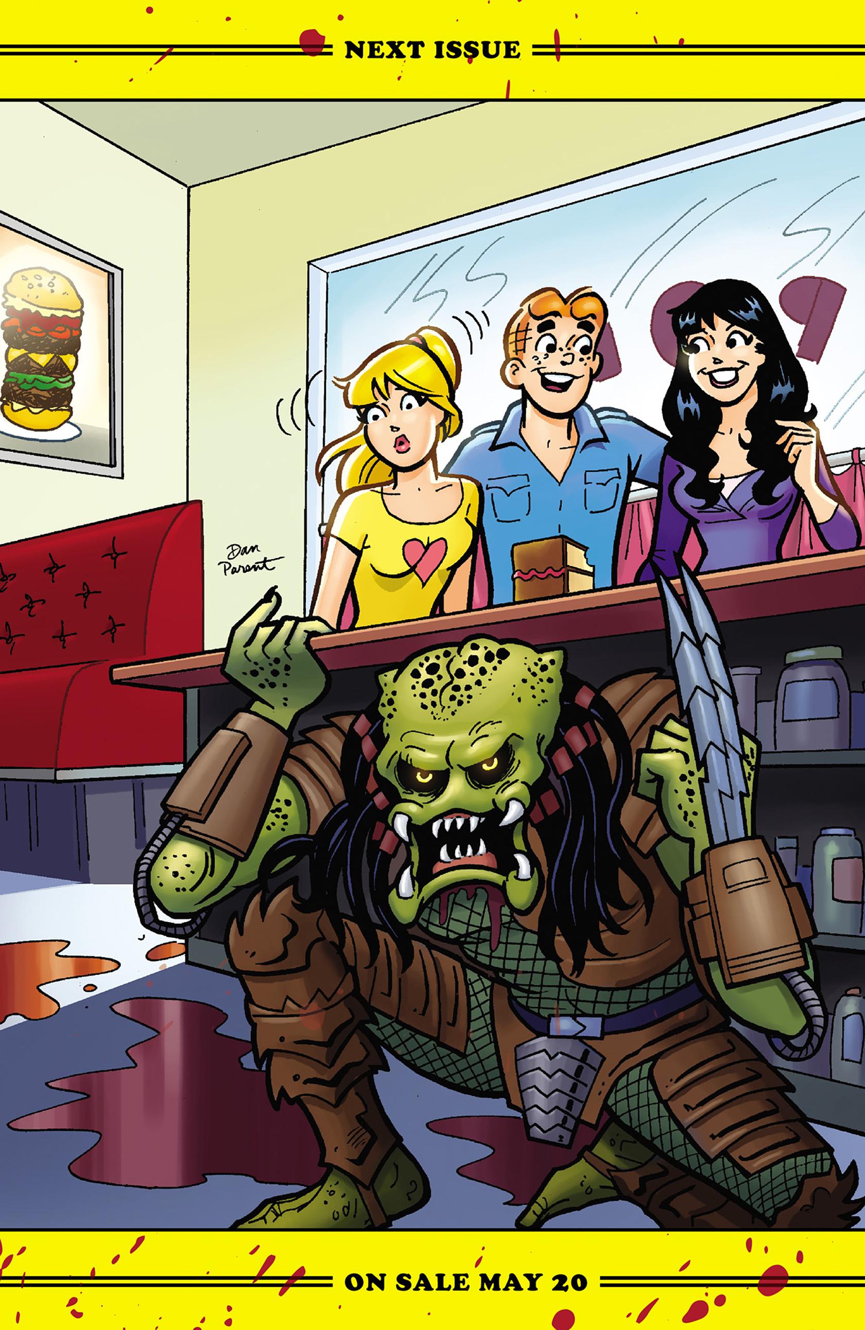 Read online Archie vs. Predator comic -  Issue #1 - 24