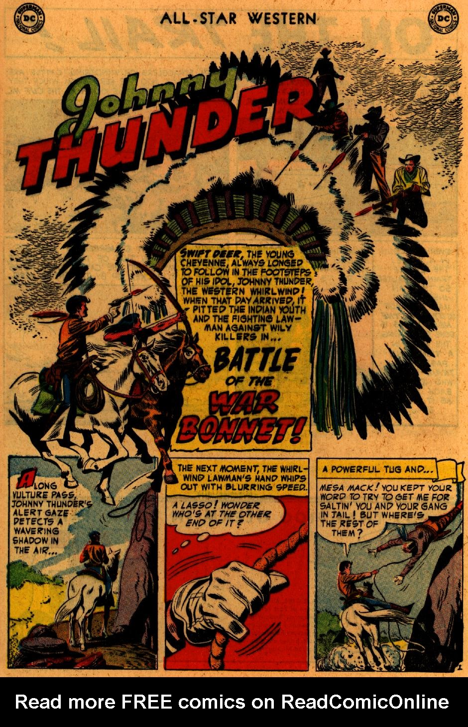Read online All-Star Western (1951) comic -  Issue #73 - 28