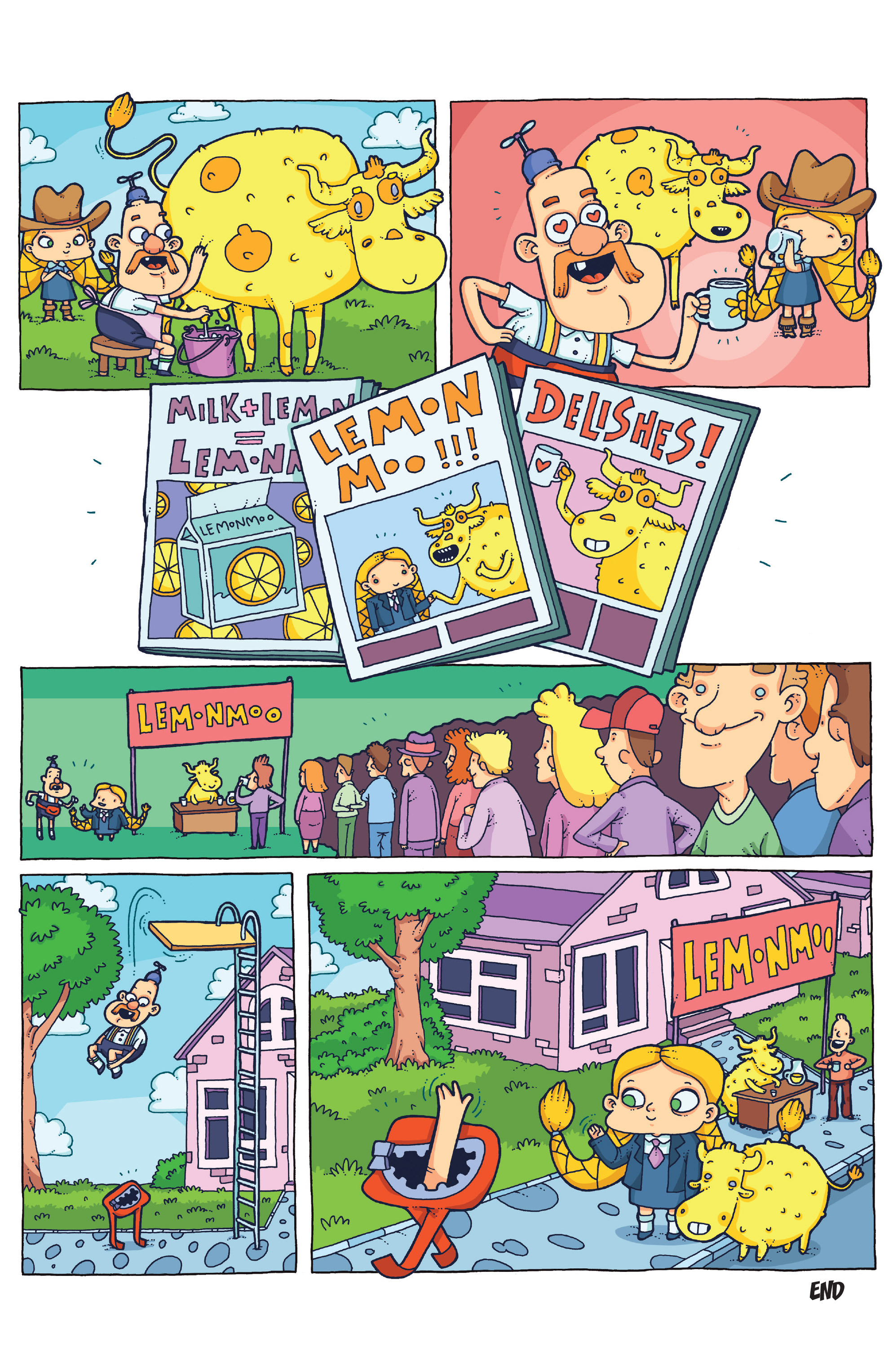 Read online Uncle Grandpa comic -  Issue #4 - 16