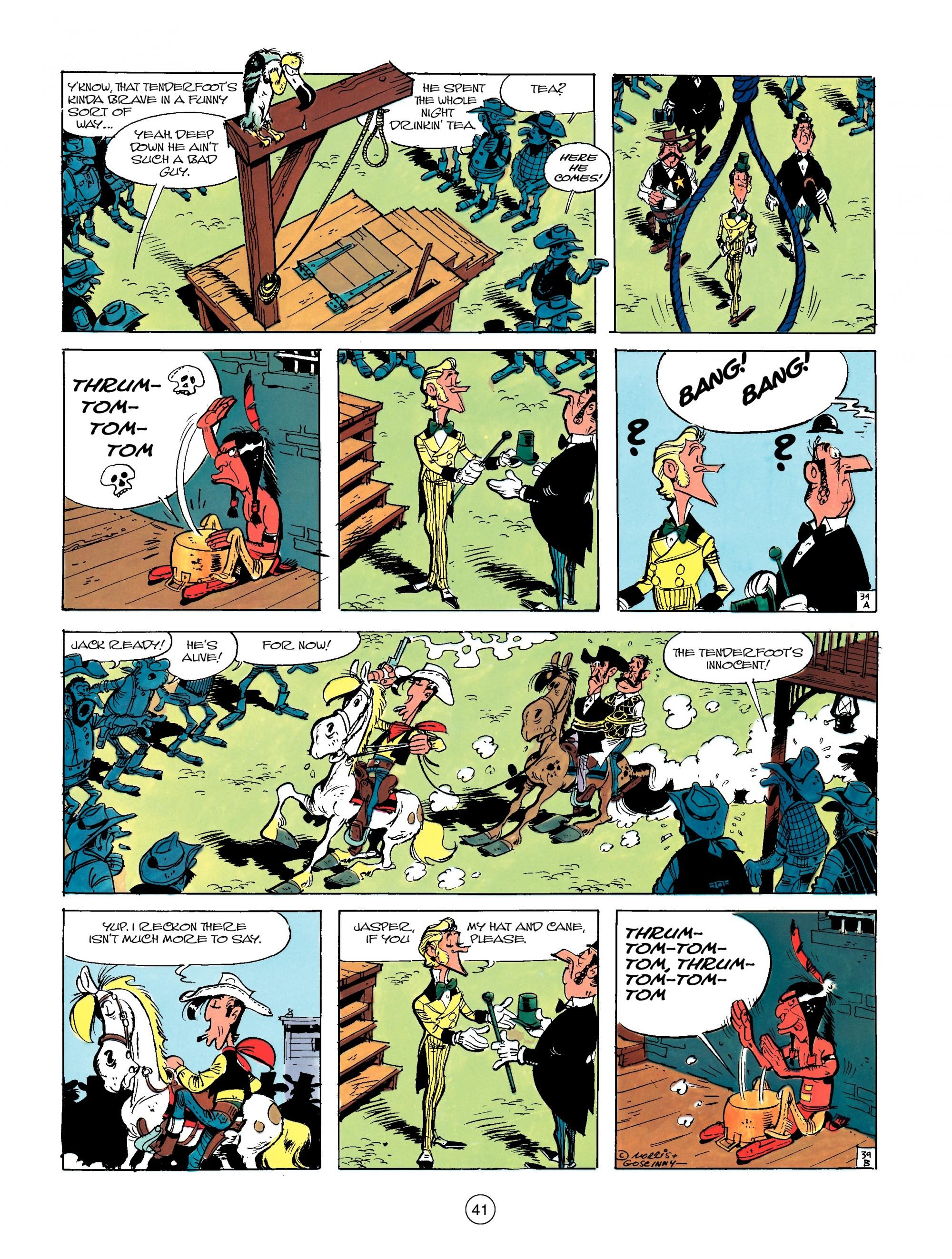Read online A Lucky Luke Adventure comic -  Issue #13 - 41