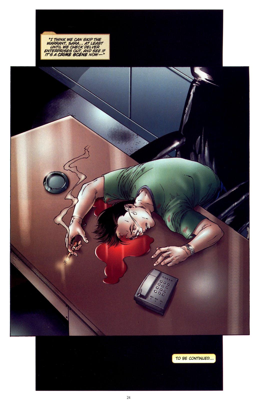 Read online CSI: Crime Scene Investigation: Bad Rap comic -  Issue #4 - 25
