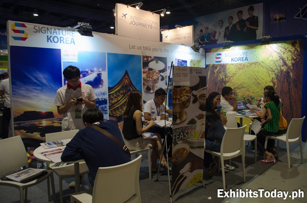 Signature Korea Exhibit Booth