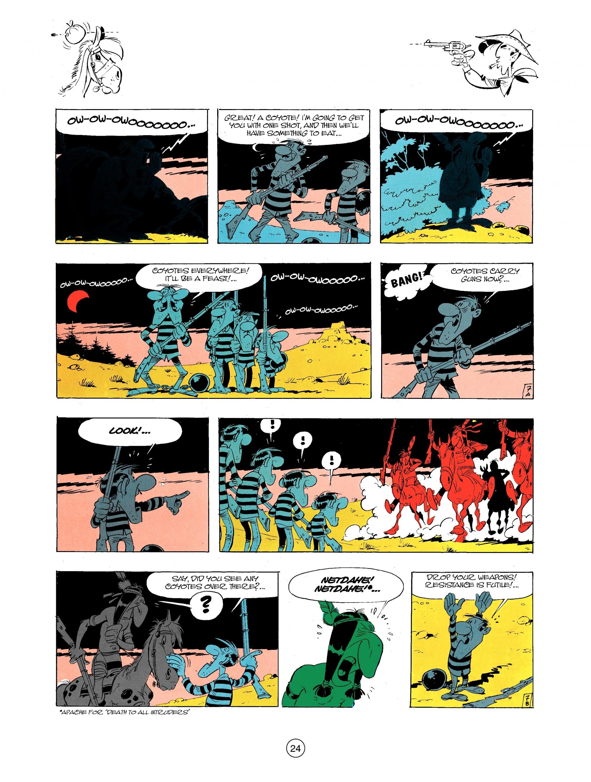 Read online A Lucky Luke Adventure comic -  Issue #34 - 24