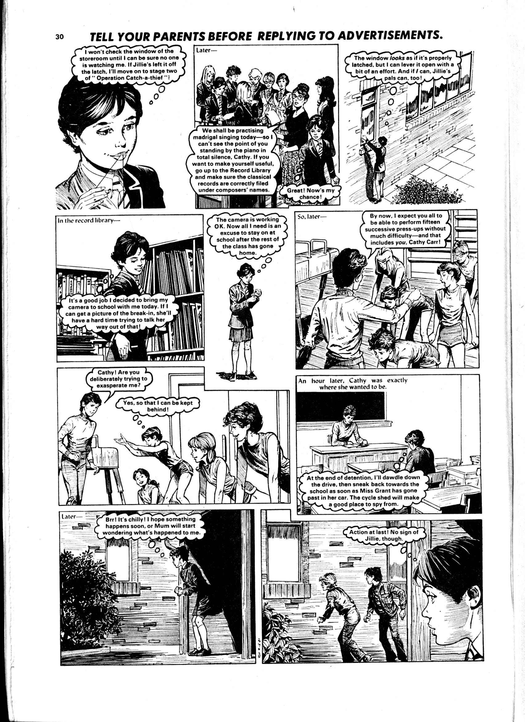 Read online Judy comic -  Issue #1113 - 30