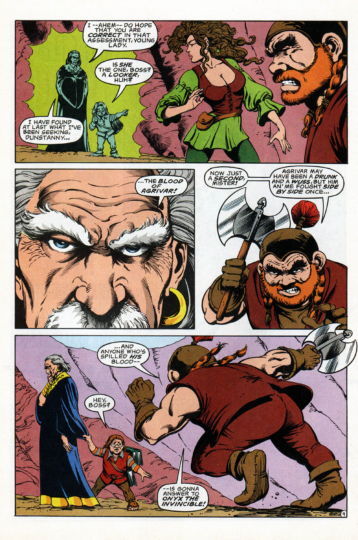 Read online Advanced Dungeons & Dragons comic -  Issue #17 - 11
