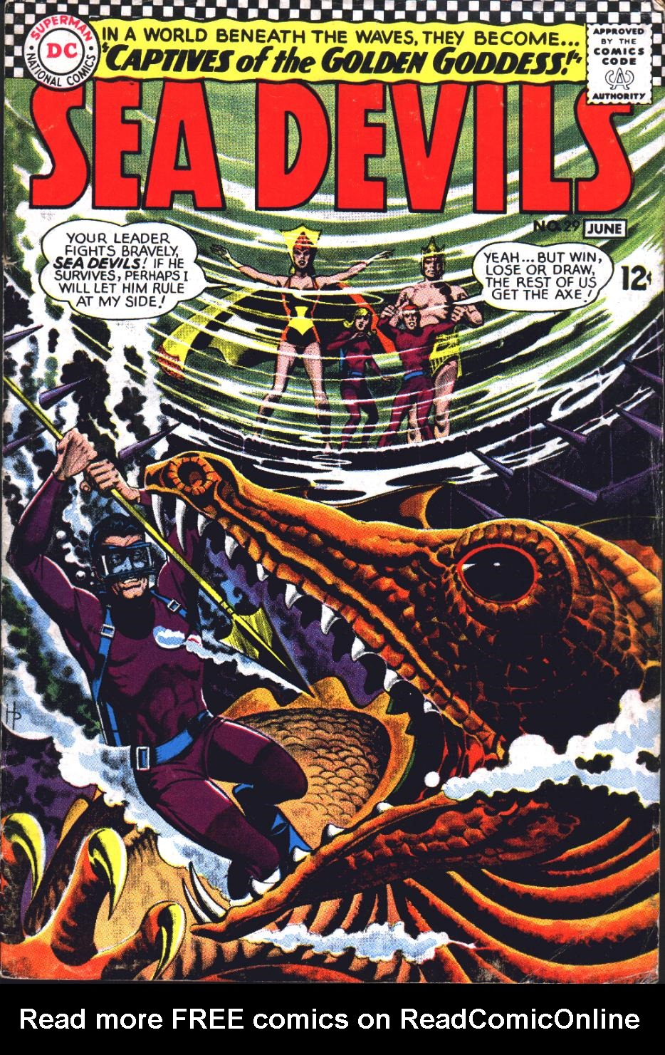 Read online Sea Devils comic -  Issue #29 - 2