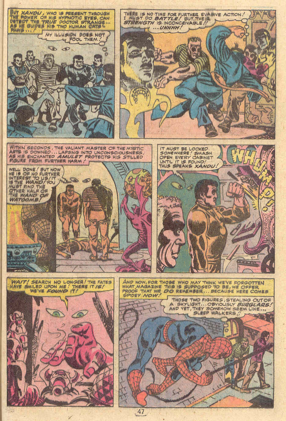 Giant-Size Spider-Man (1974) issue 4 - Page 38