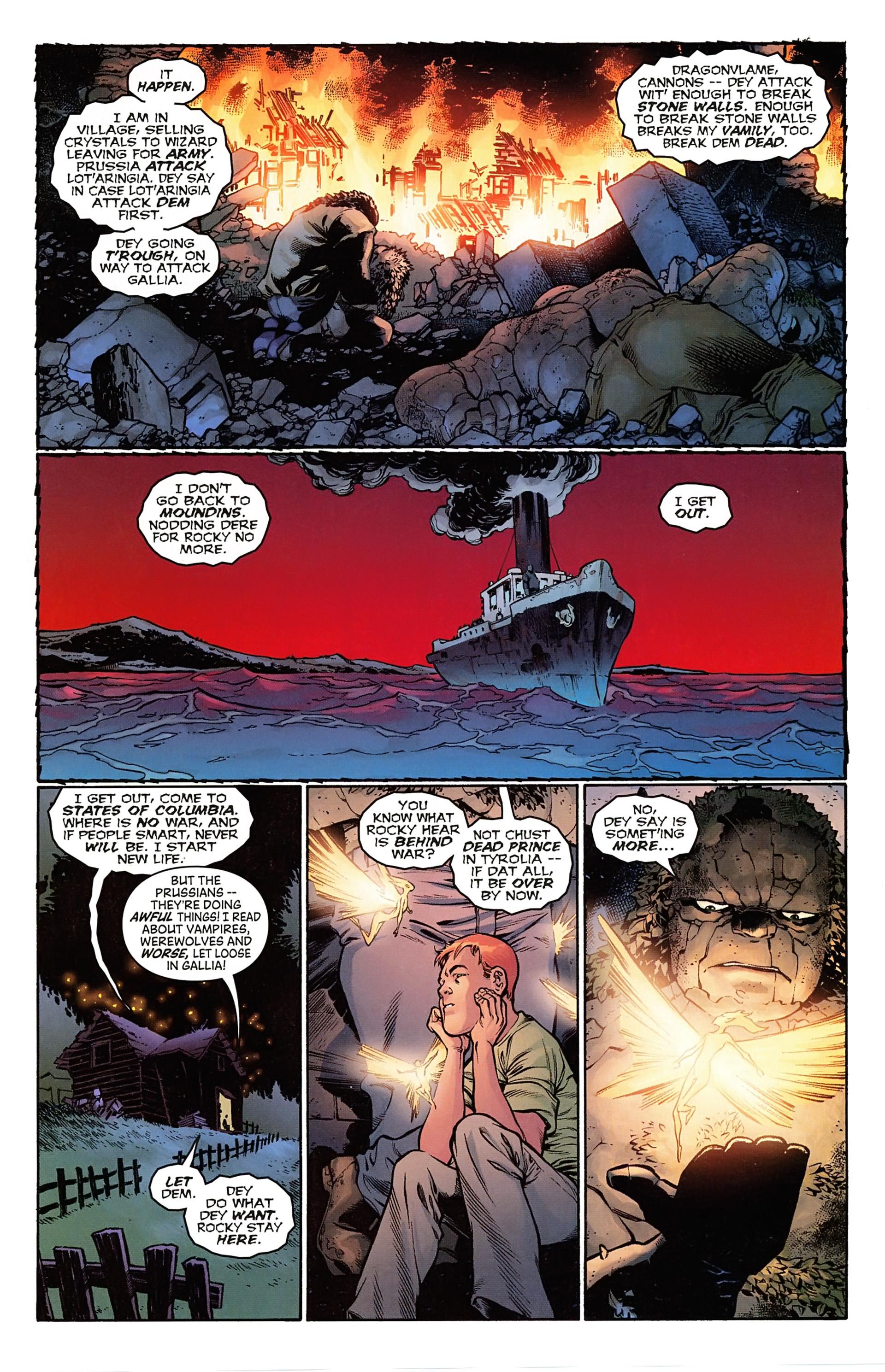 Read online Arrowsmith comic -  Issue #1 - 18