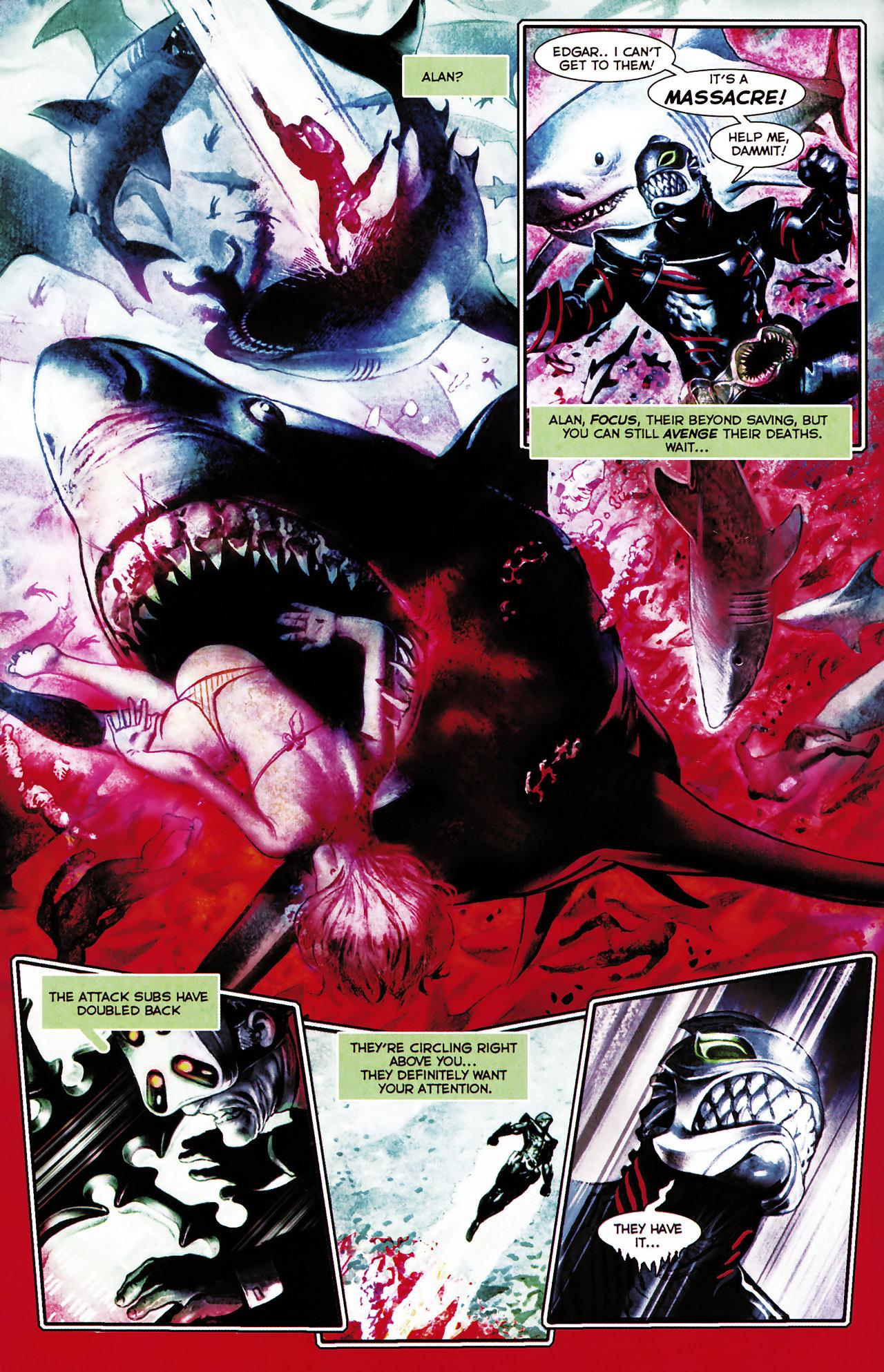 Read online Shark-Man comic -  Issue #1 - 14