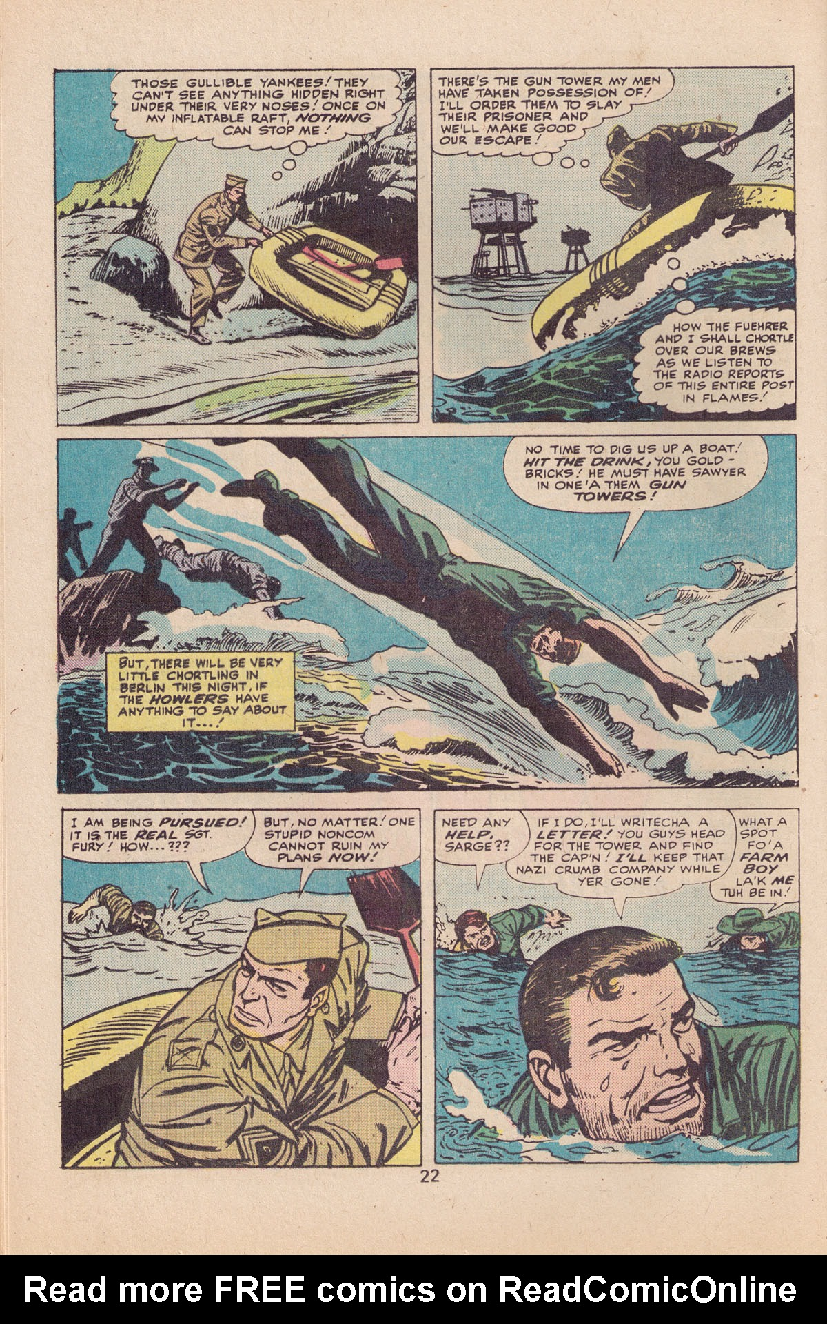 Read online Sgt. Fury comic -  Issue #127 - 24