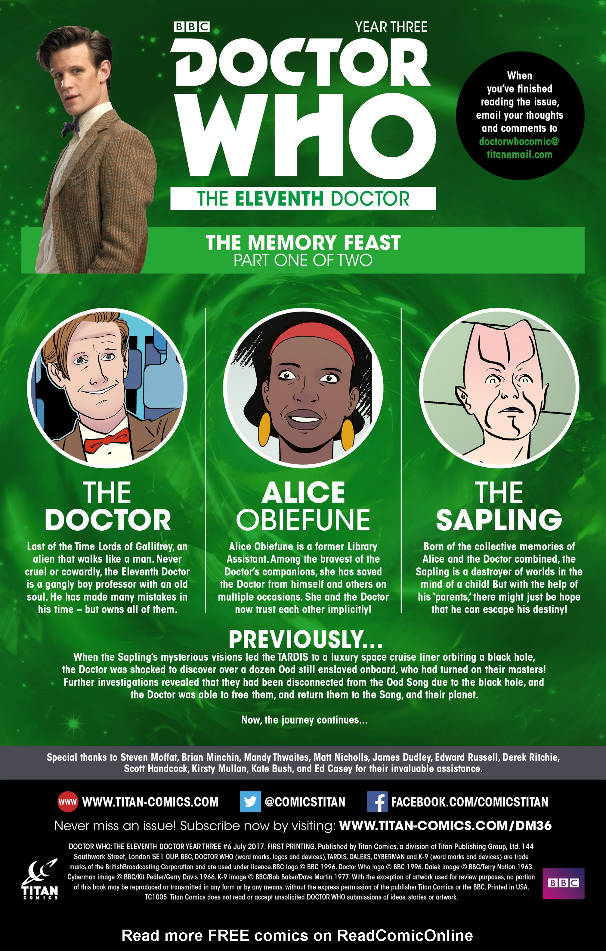 Read online Doctor Who: The Eleventh Doctor Year Three comic -  Issue #6 - 5
