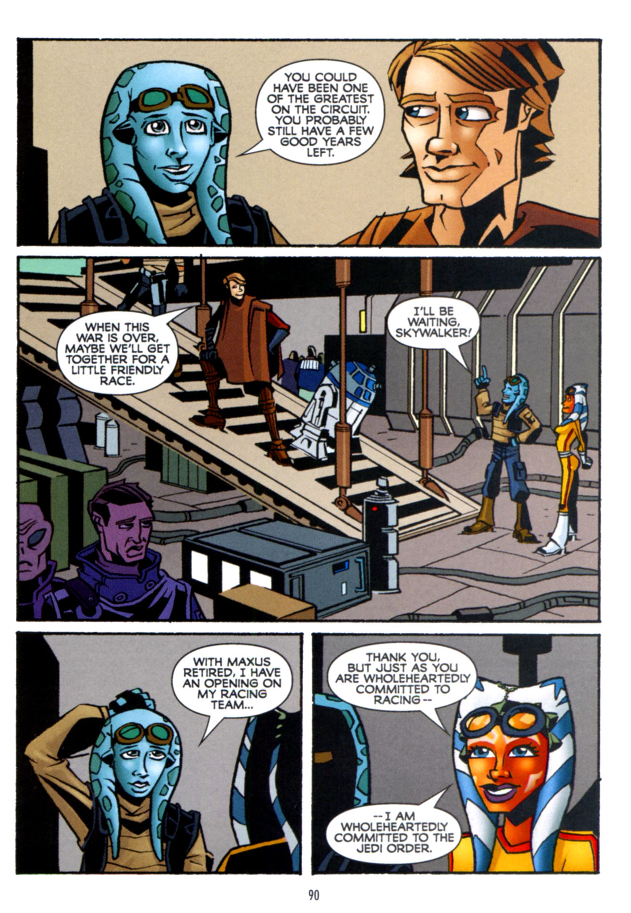 Read online Star Wars: The Clone Wars - Crash Course comic -  Issue # Full - 91