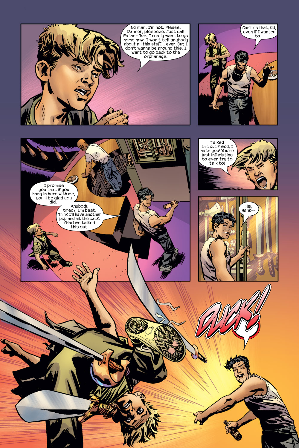 Read online Ultimate Adventures comic -  Issue #3 - 11