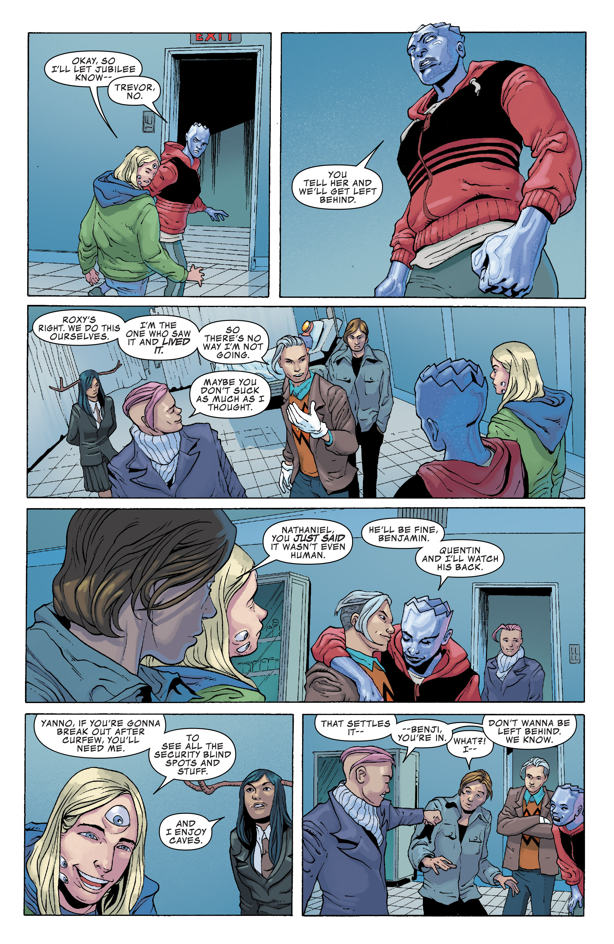 Read online Generation X (2017) comic -  Issue #3 - 21