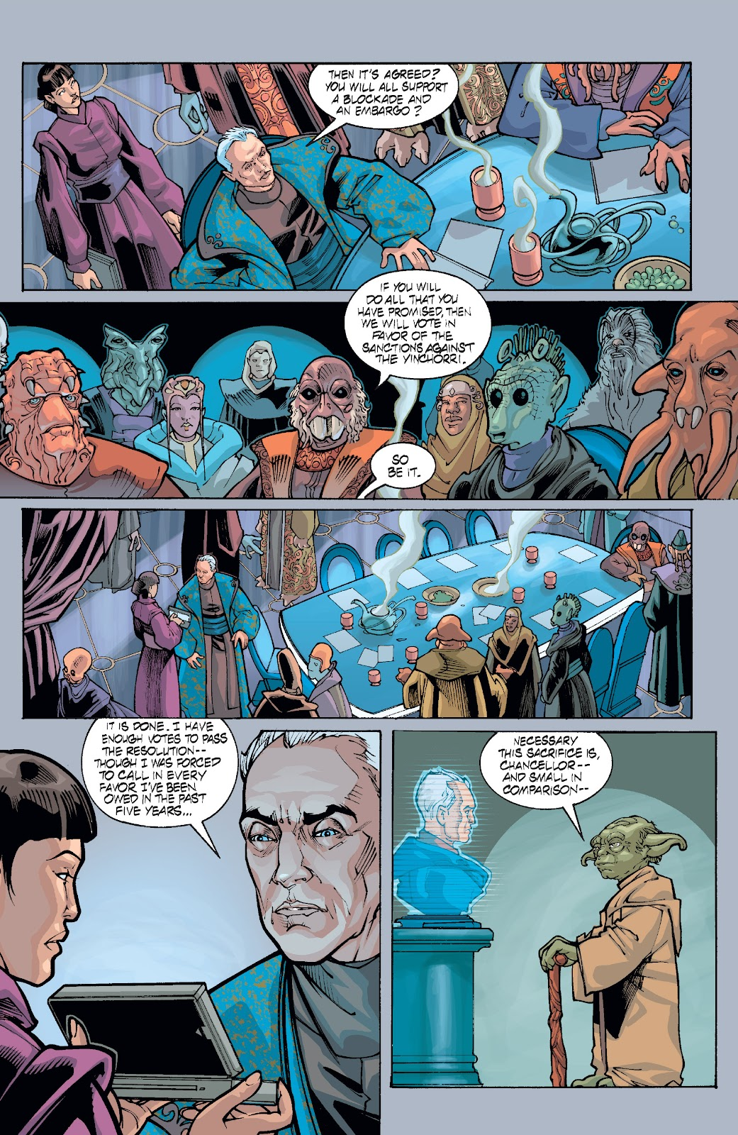 Read online Star Wars Legends: Rise of the Sith - Epic Collection comic -  Issue # TPB 1 (Part 5) - 37