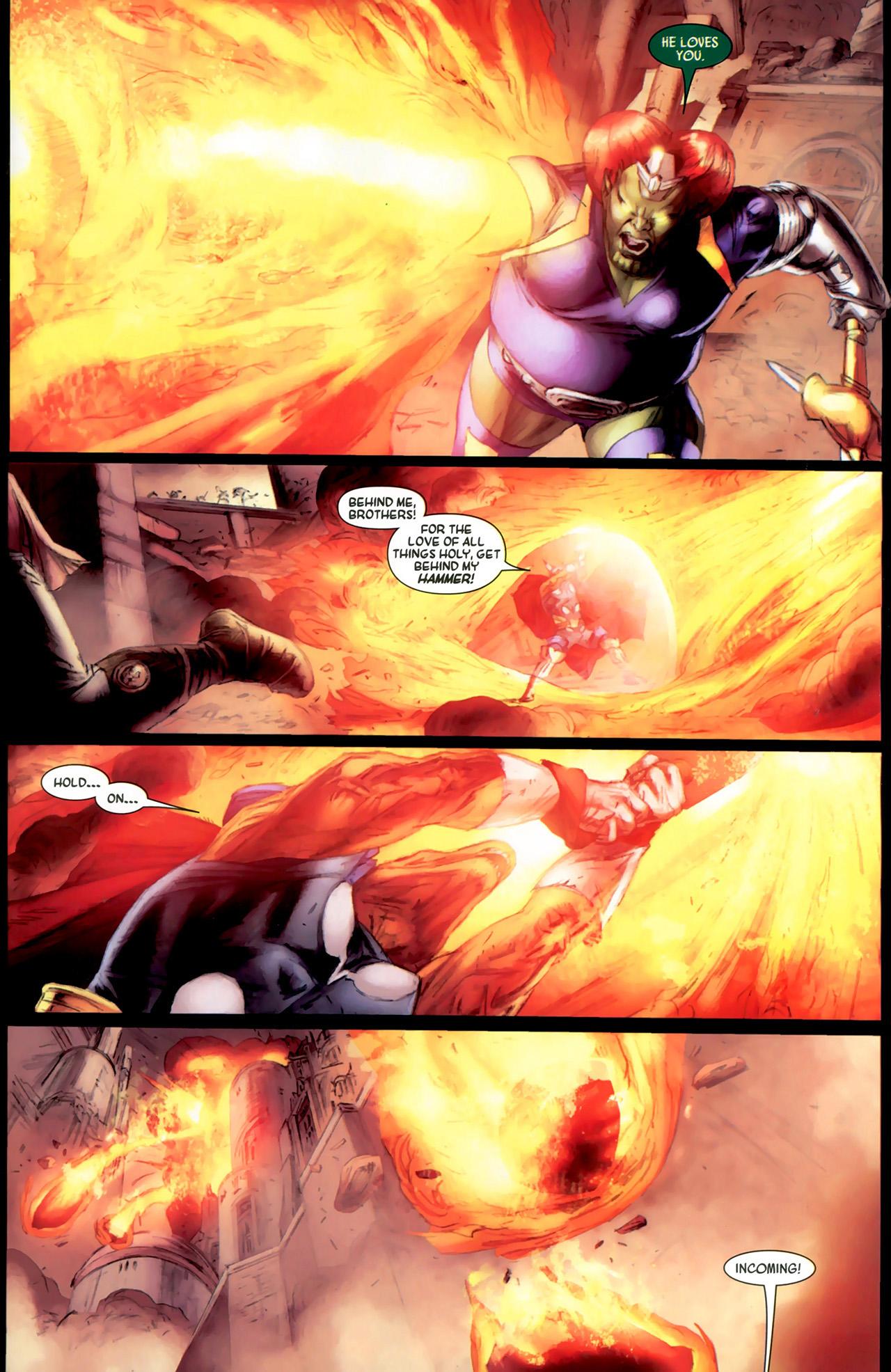 Read online Secret Invasion: Thor comic -  Issue #2 - 13