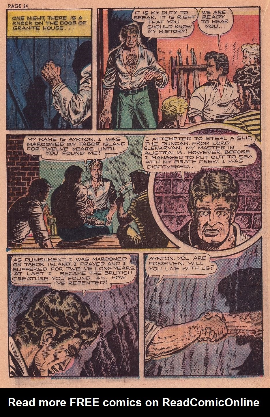 Classics Illustrated issue 34 - Page 32