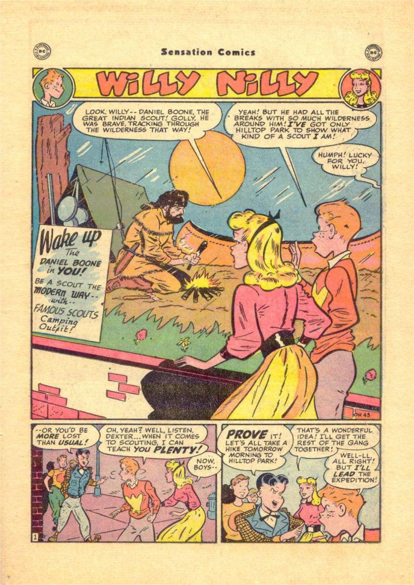Read online Sensation (Mystery) Comics comic -  Issue #84 - 33