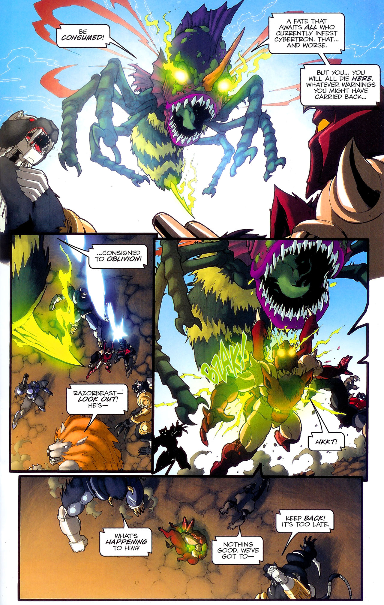 Read online Transformers: Beast Wars: The Ascending comic -  Issue #2 - 24