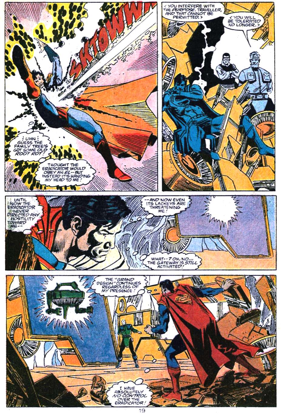 Read online Adventures of Superman (1987) comic -  Issue #460 - 20