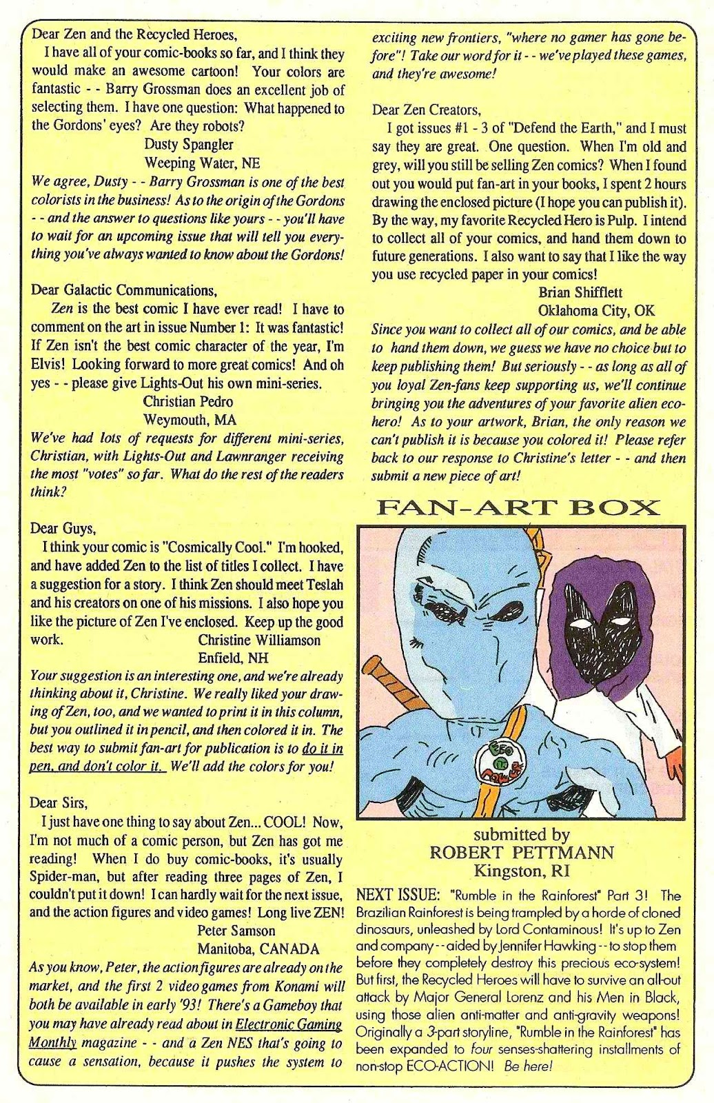 Read online Zen Intergalactic Ninja (1992) comic -  Issue #3 - 32