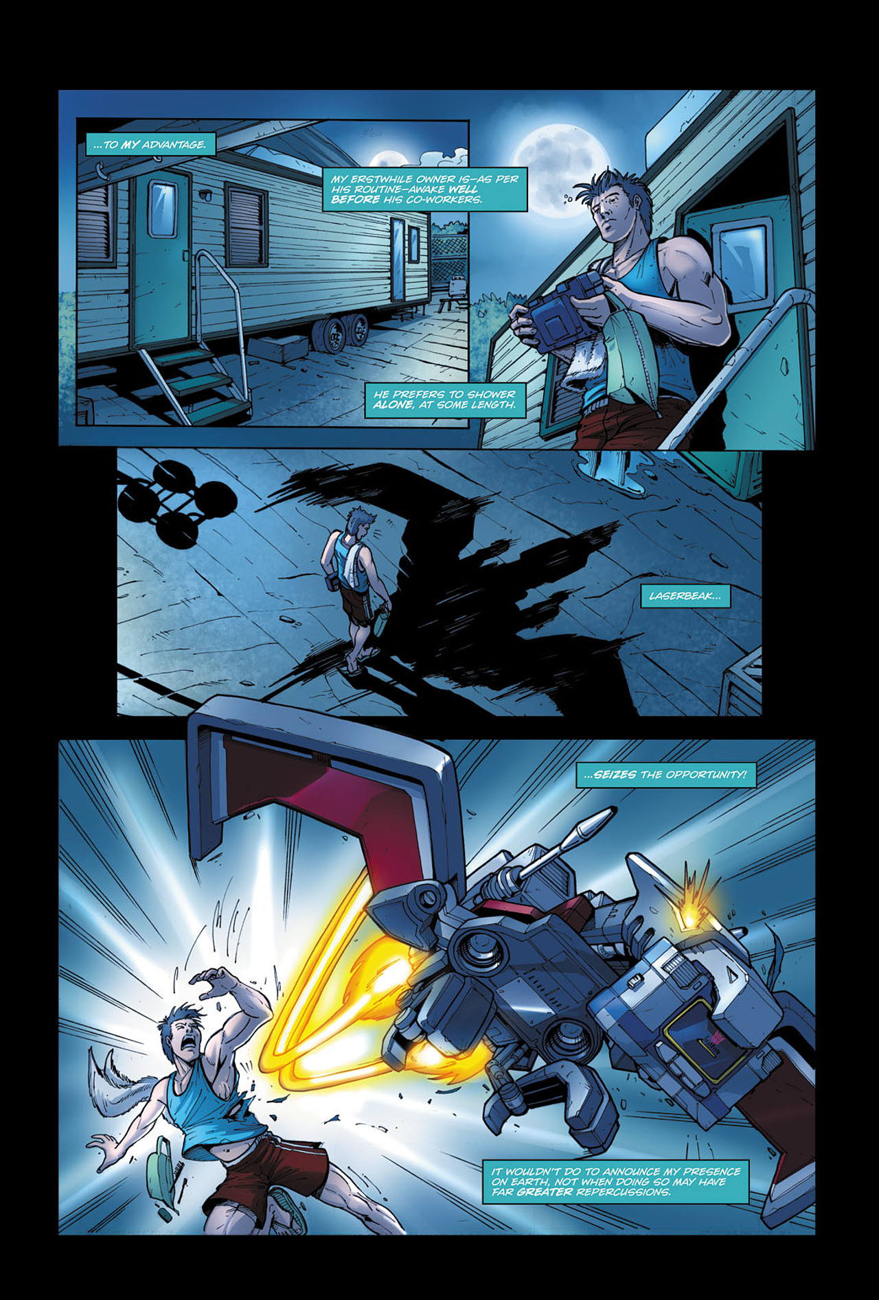 Read online Transformers Spotlight: Soundwave comic -  Issue # Full - 13