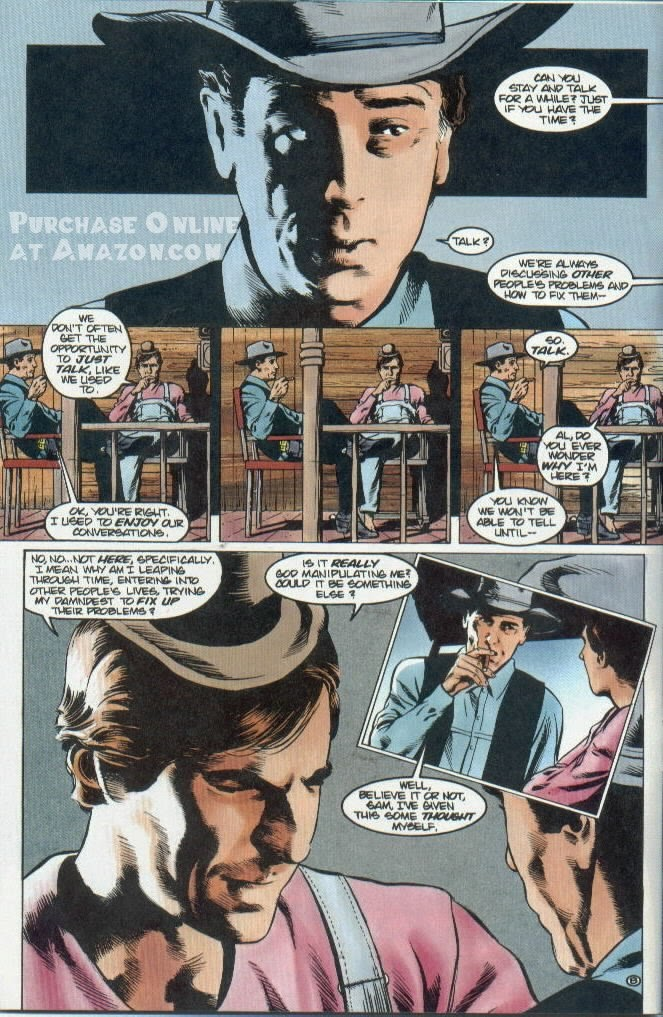 Read online Quantum Leap comic -  Issue #12 - 9