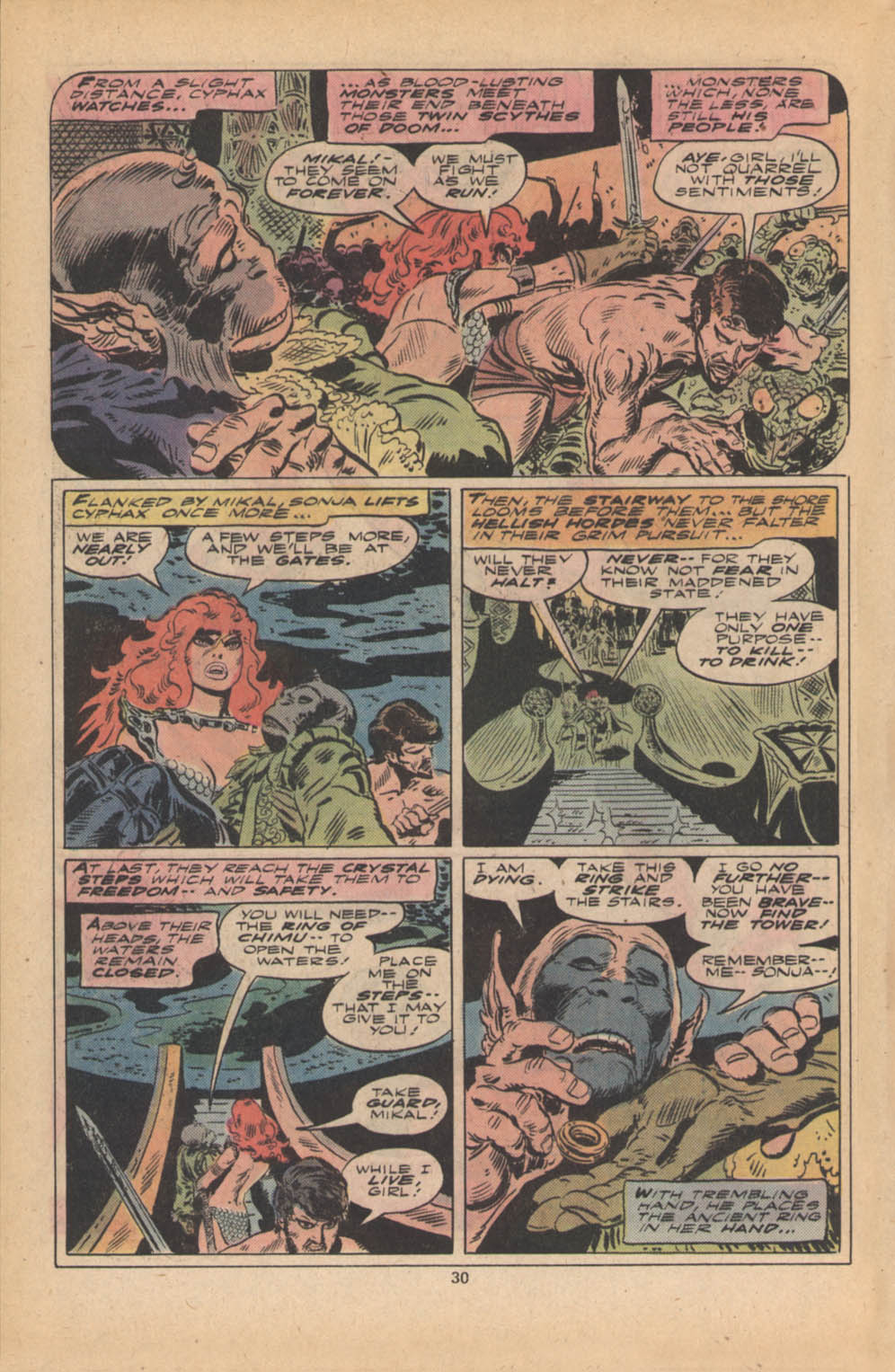 Red Sonja (1977) issue 4 - Page 17