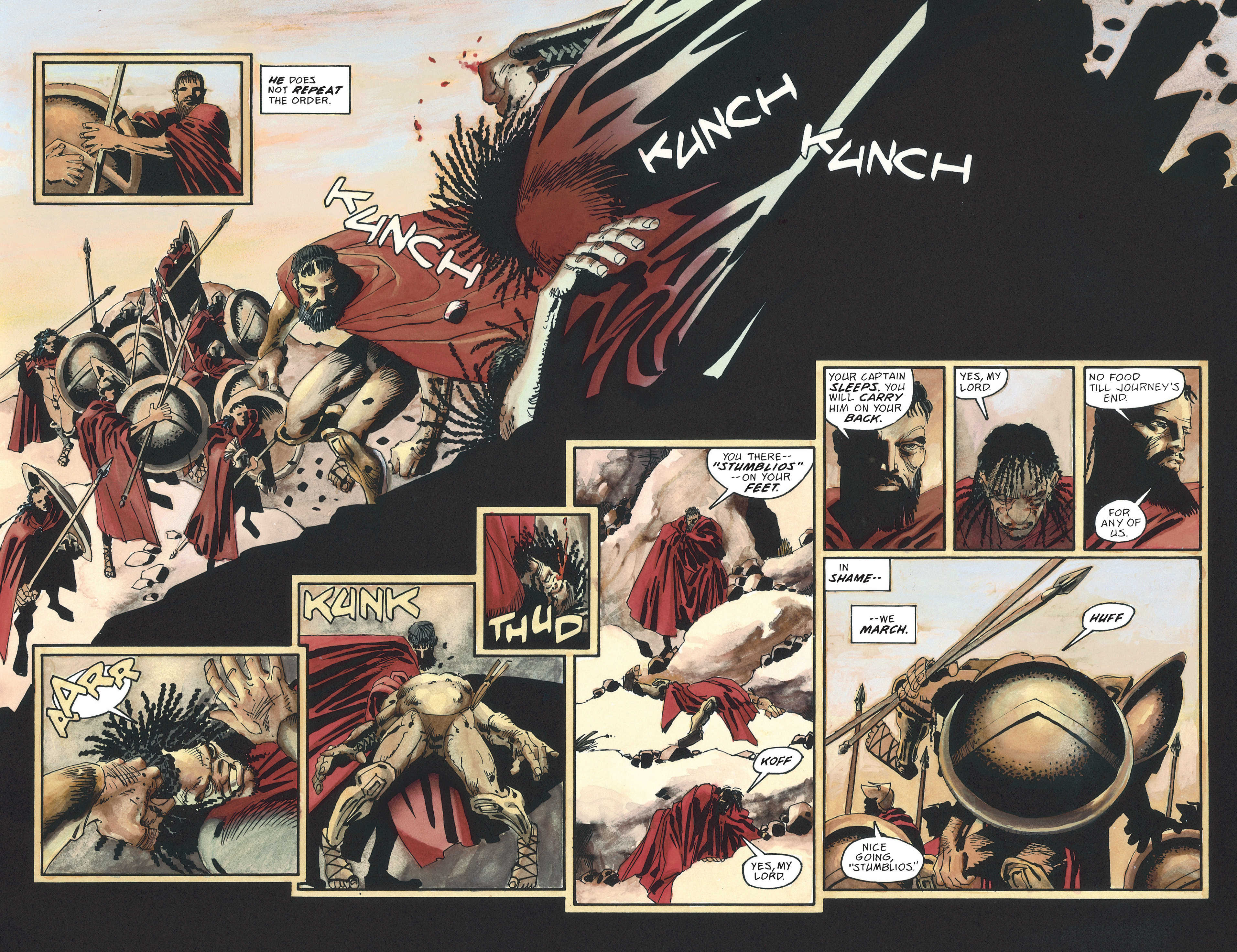 Read online 300 comic -  Issue #300 TPB - 12