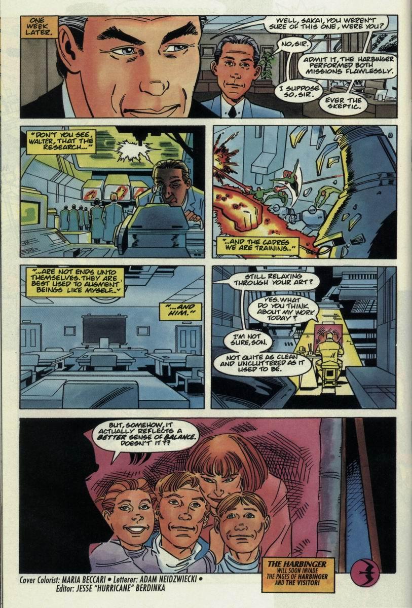 Read online Harbinger Files comic -  Issue #2 - 22