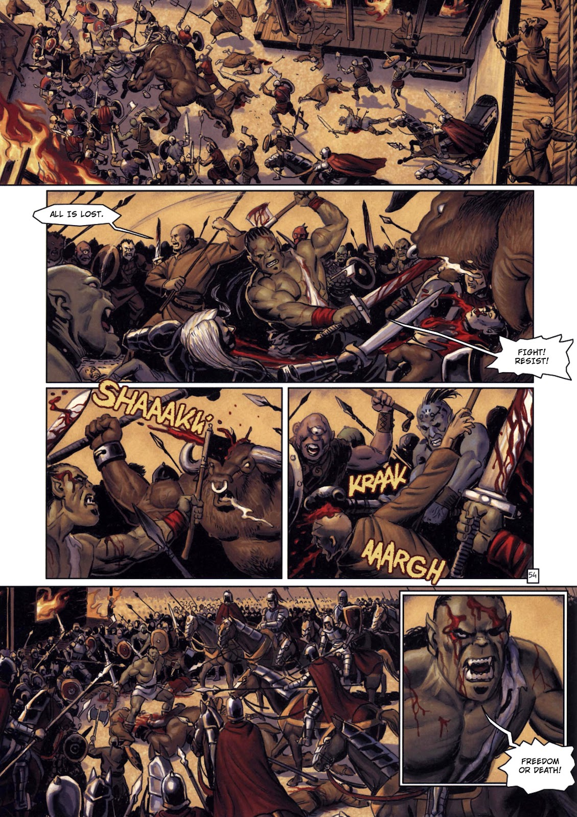 Read online Orks comic -  Issue #2 - 55