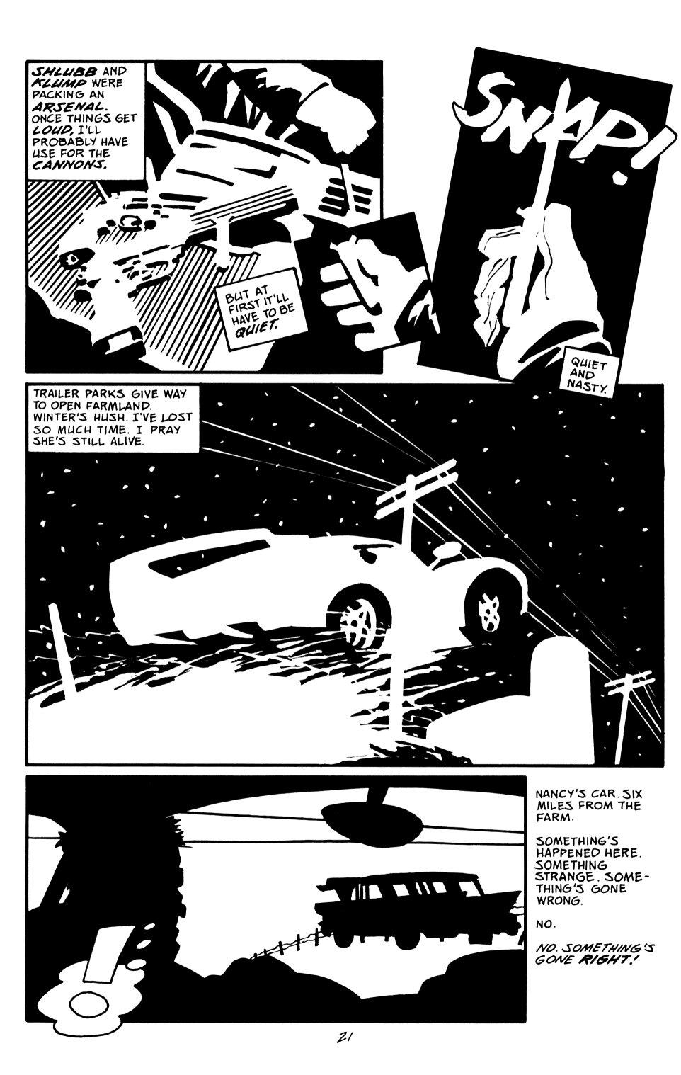 Read online Sin City: That Yellow Bastard comic -  Issue #6 - 21