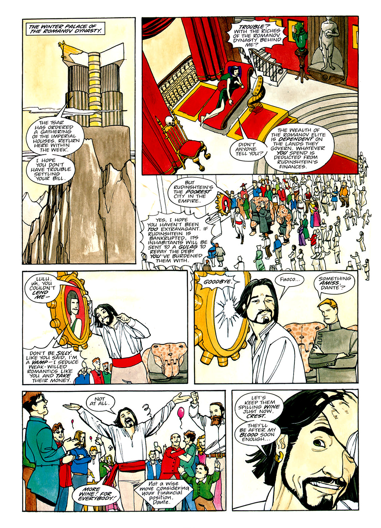 Read online Nikolai Dante comic -  Issue # TPB 1 - 105