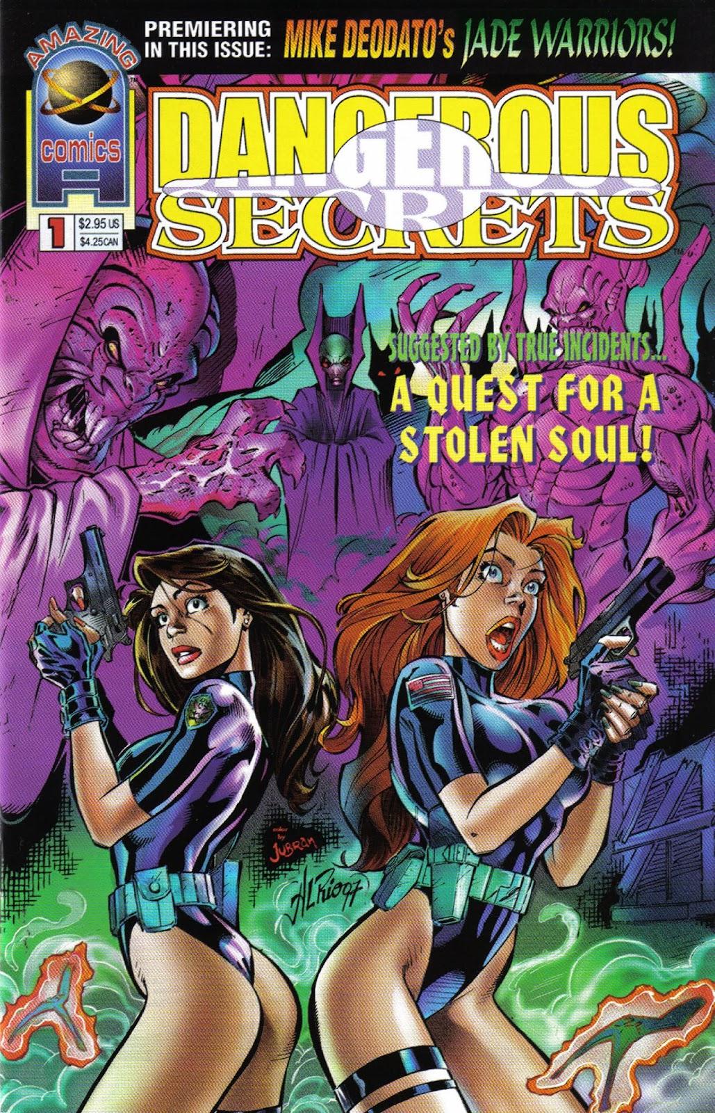 Dangerous Secrets issue Full - Page 1