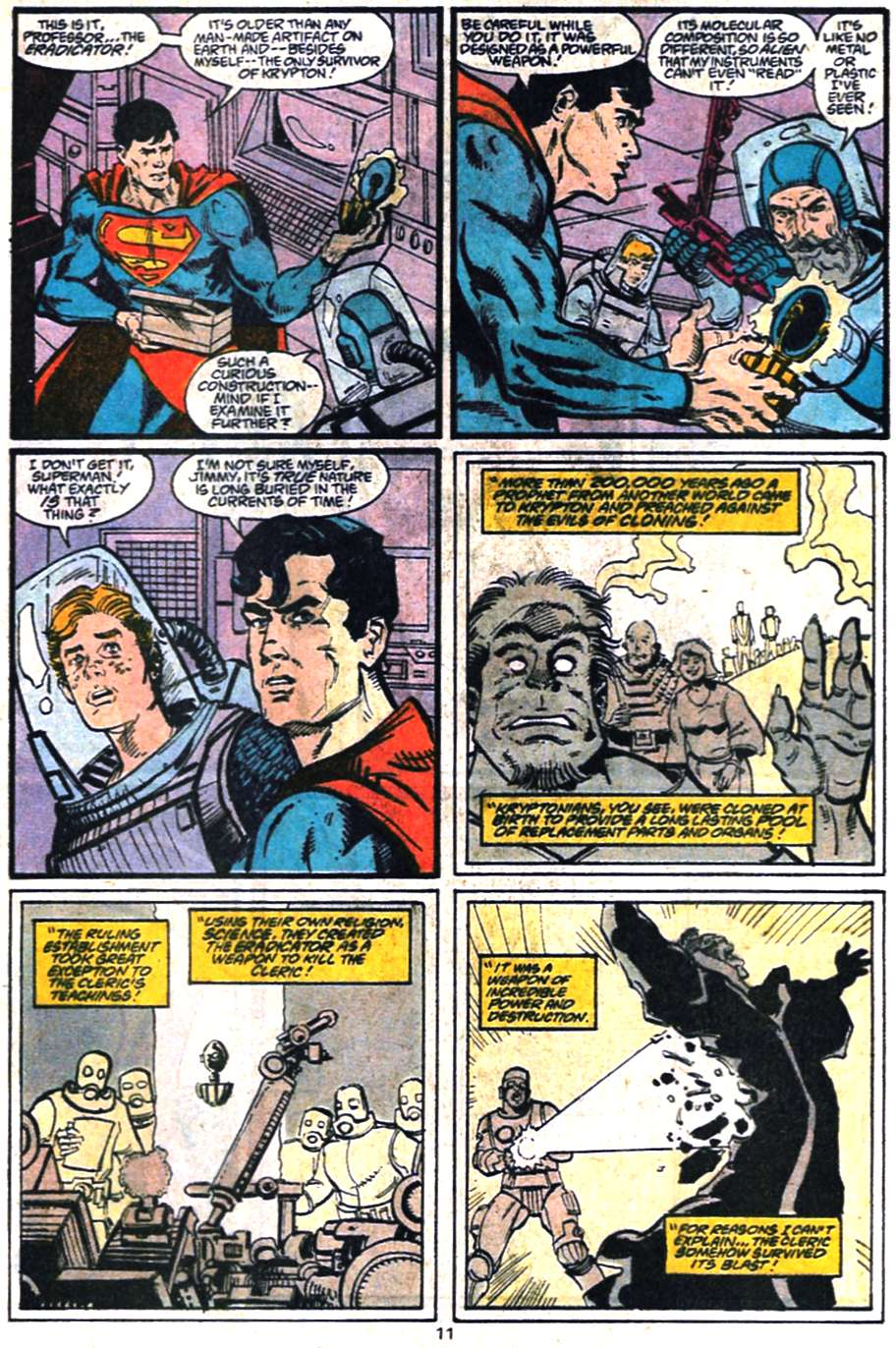 Read online Adventures of Superman (1987) comic -  Issue #459 - 12