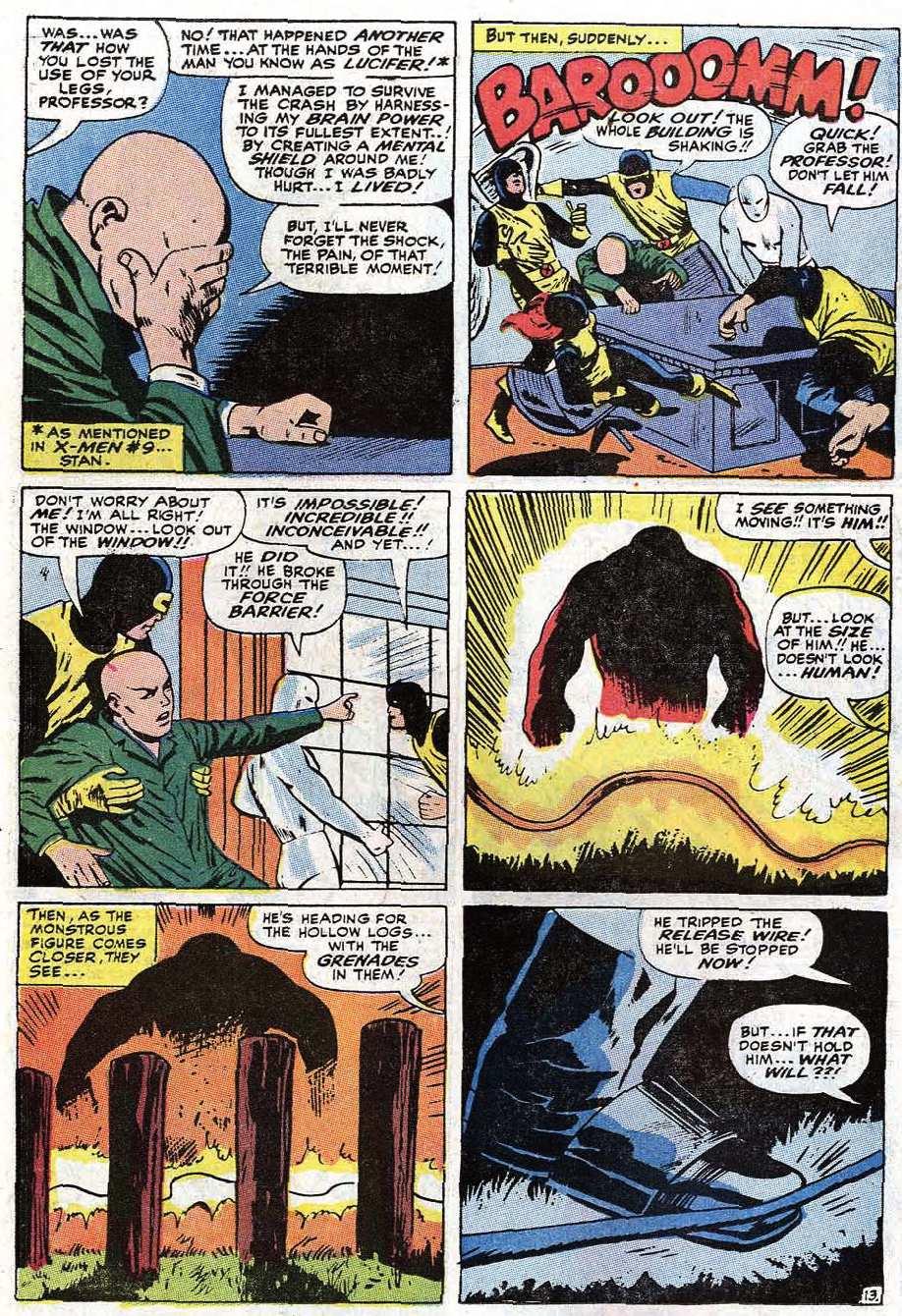 Read online Uncanny X-Men (1963) comic -  Issue #67 - 16