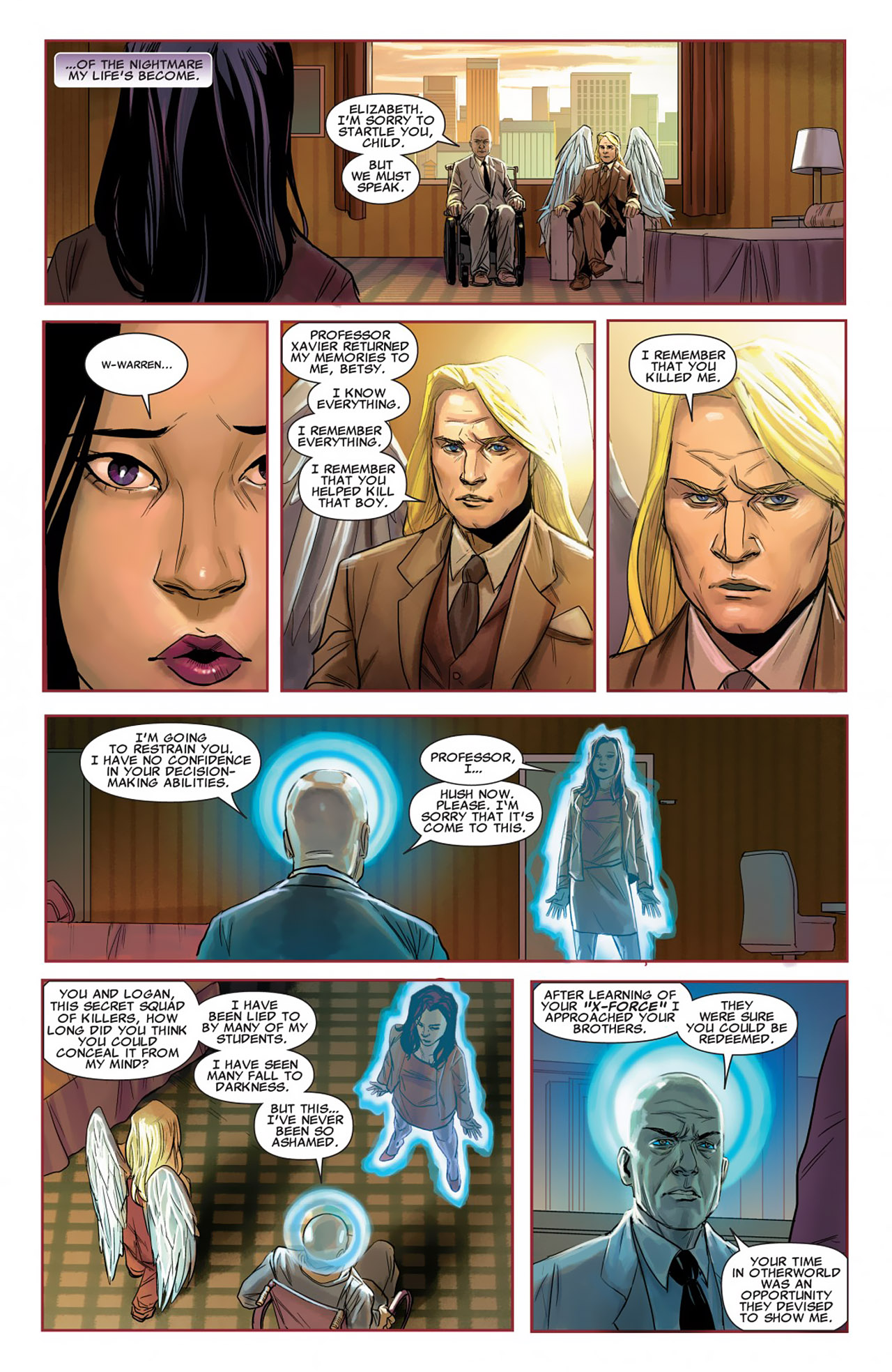 Read online Uncanny X-Force (2010) comic -  Issue #26 - 17