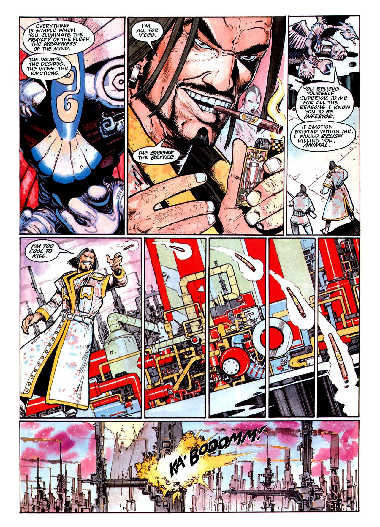 Read online Nikolai Dante comic -  Issue # TPB 1 - 171