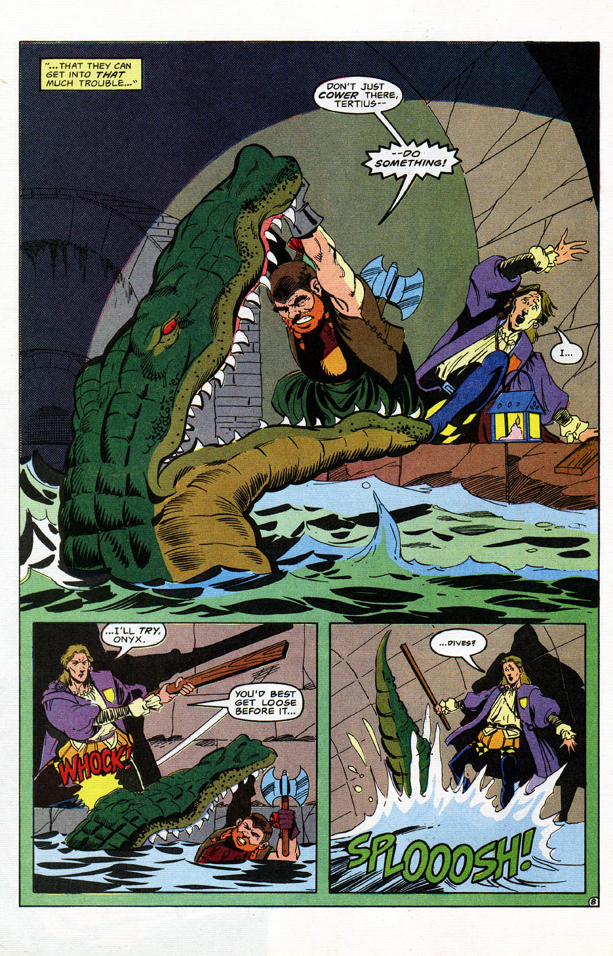 Read online Advanced Dungeons & Dragons comic -  Issue #11 - 9