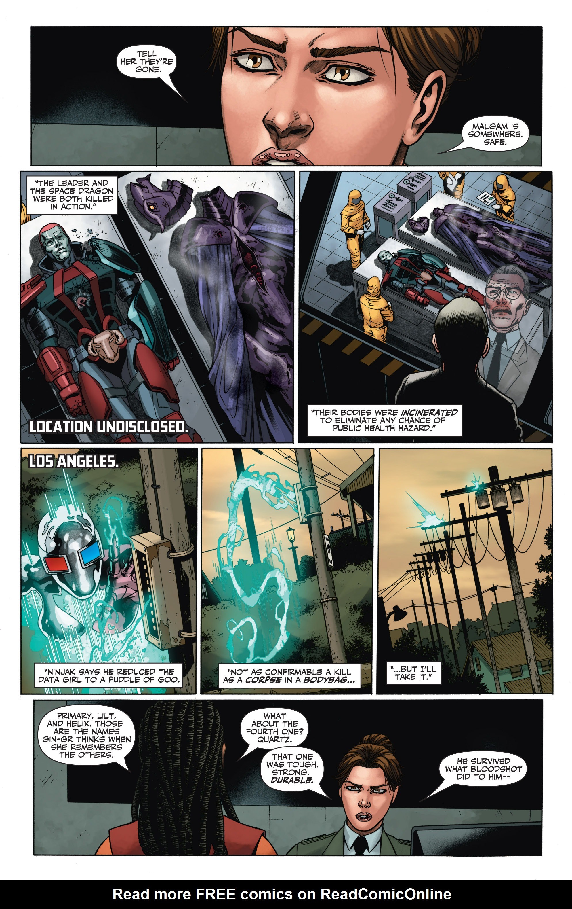 Read online Armor Hunters: Aftermath comic -  Issue # Full - 12
