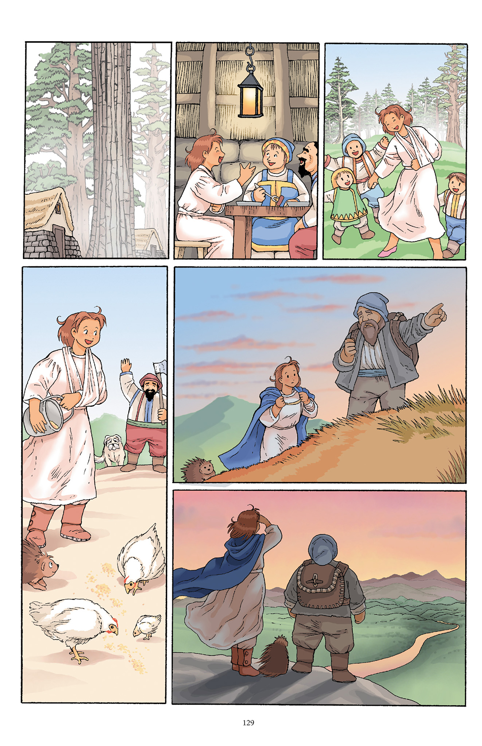 Read online Courageous Princess comic -  Issue # TPB 1 - 128