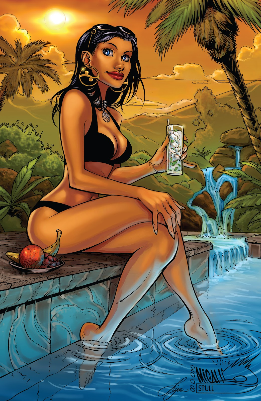 Read online Aspen Splash: Swimsuit Spectacular comic -  Issue # Issue 2009 - 3