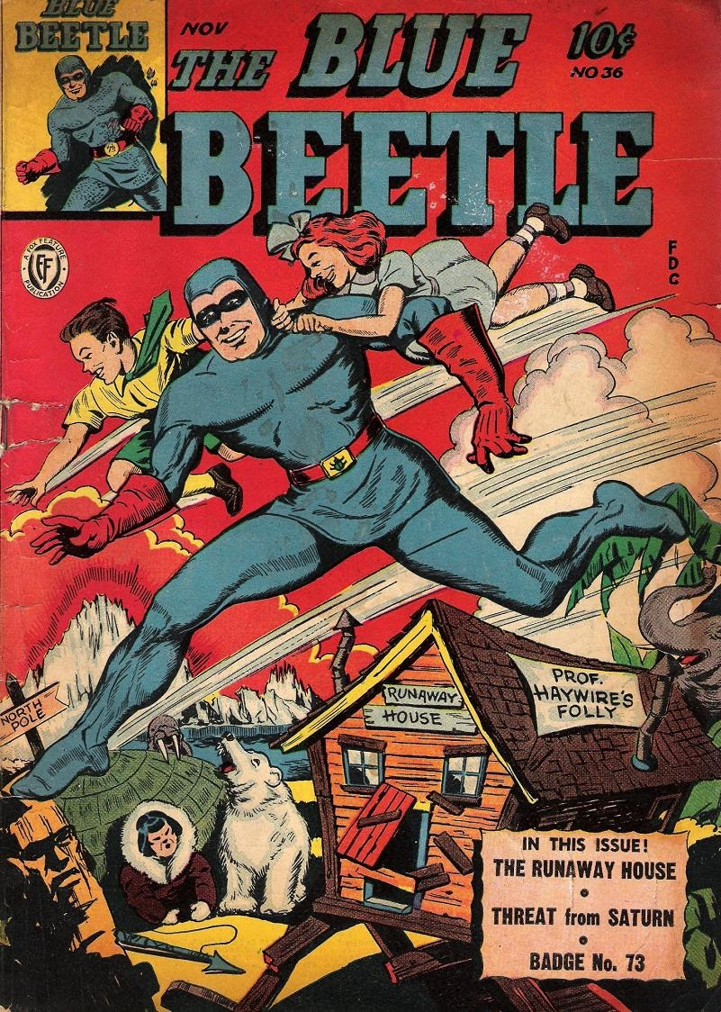 The Blue Beetle issue 36 - Page 1