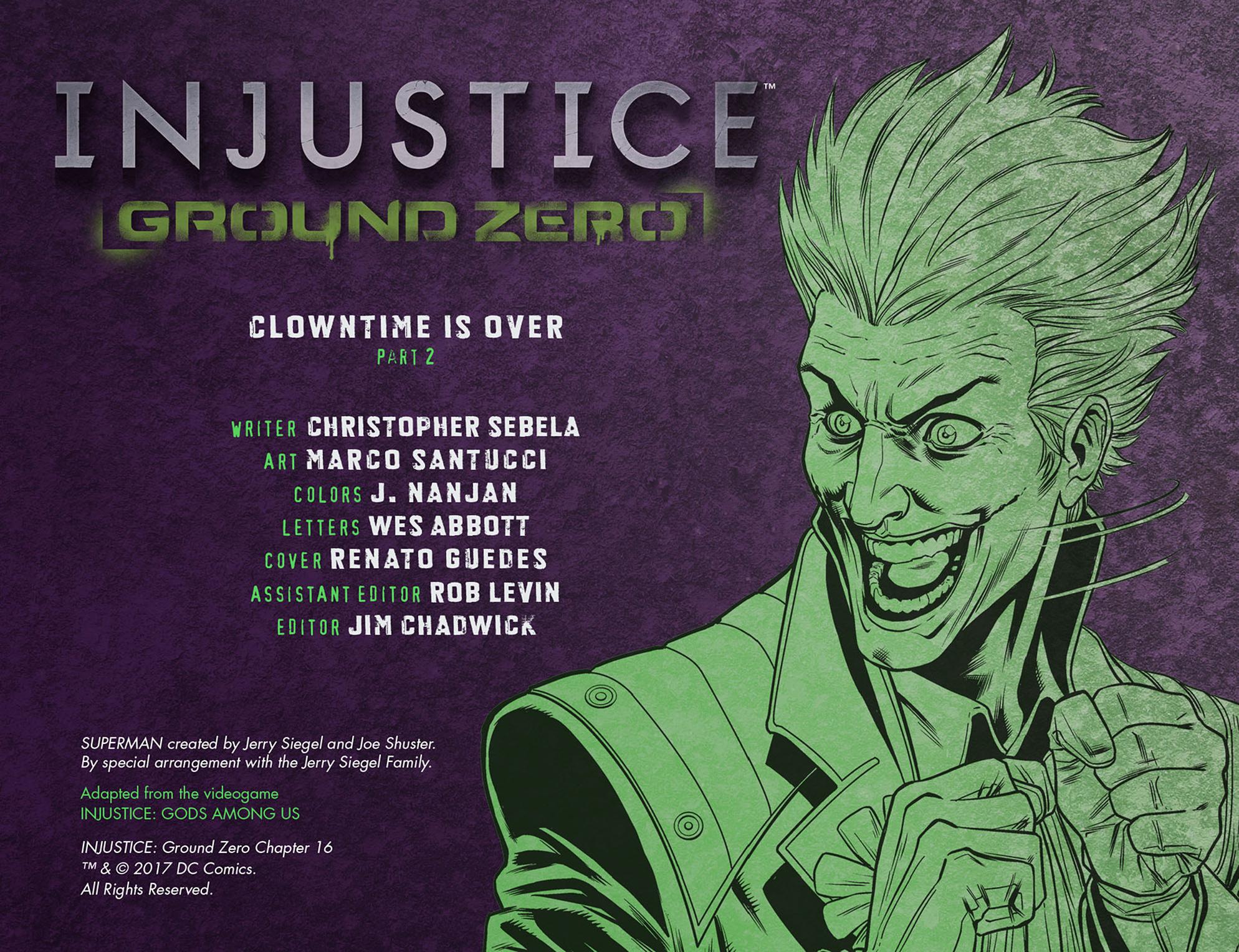 Read online Injustice: Ground Zero comic -  Issue #16 - 3