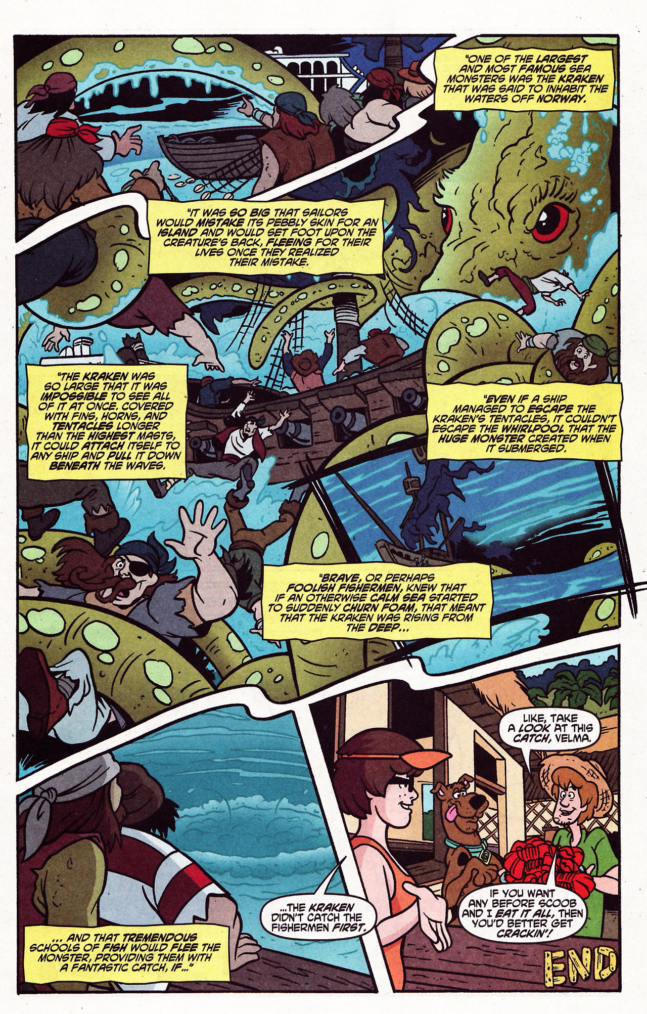 Read online Scooby-Doo (1997) comic -  Issue #121 - 23